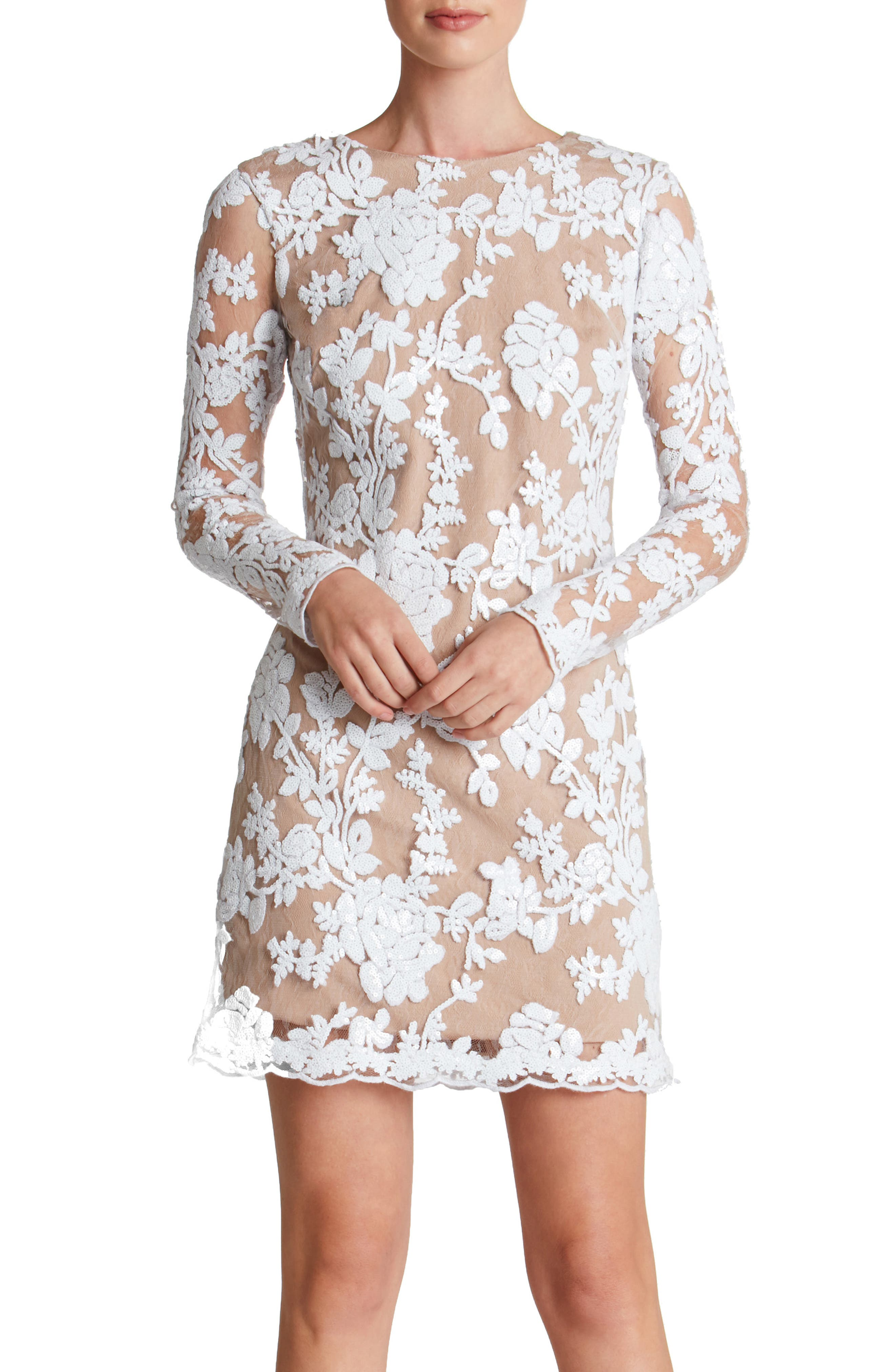 Alternate Image 1 Selected - Dress the Population Grace A-Line Dress