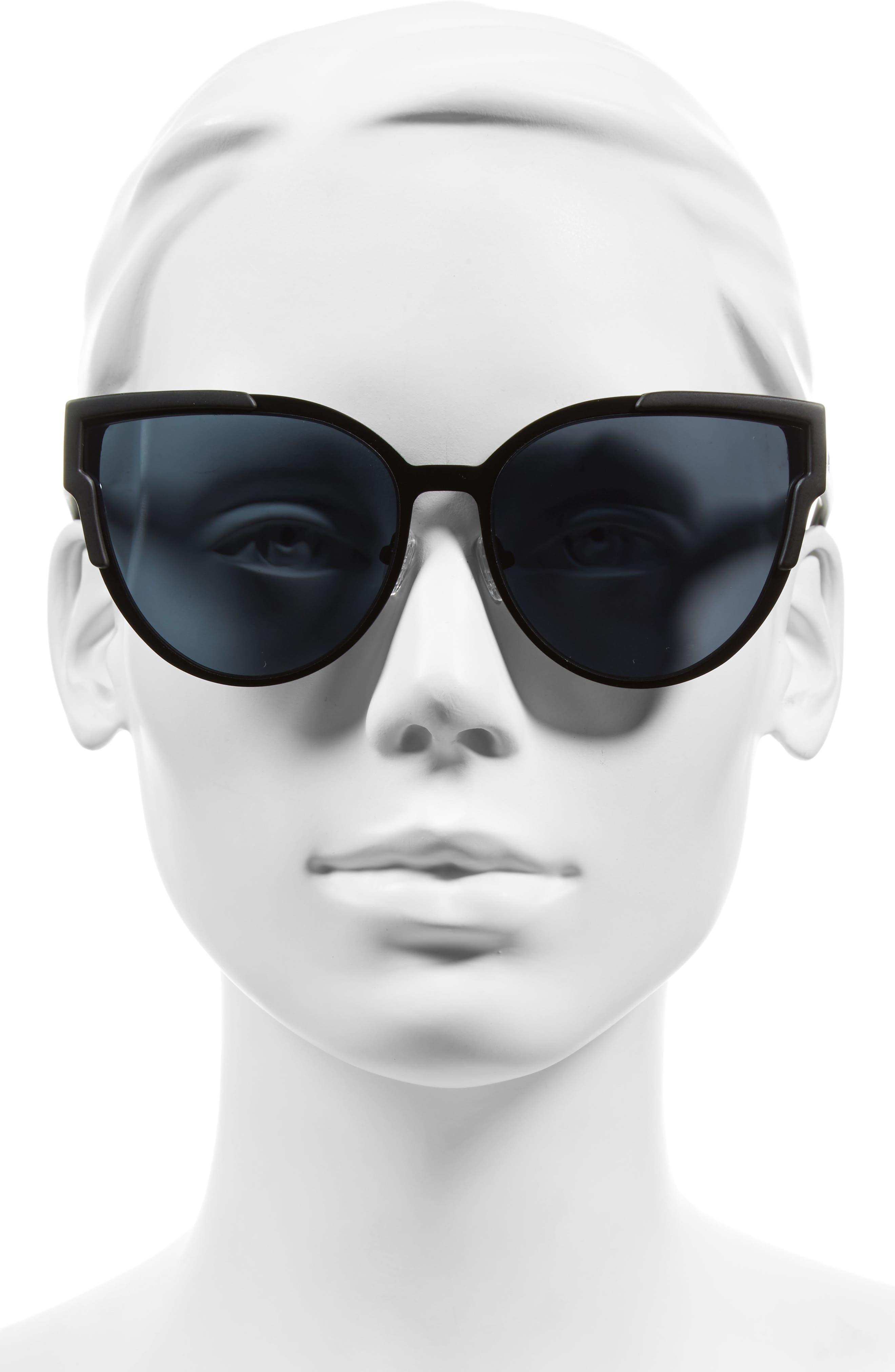 Alternate Image 2  - Quay Australia Game On 57mm Cat Eye Sunglasses