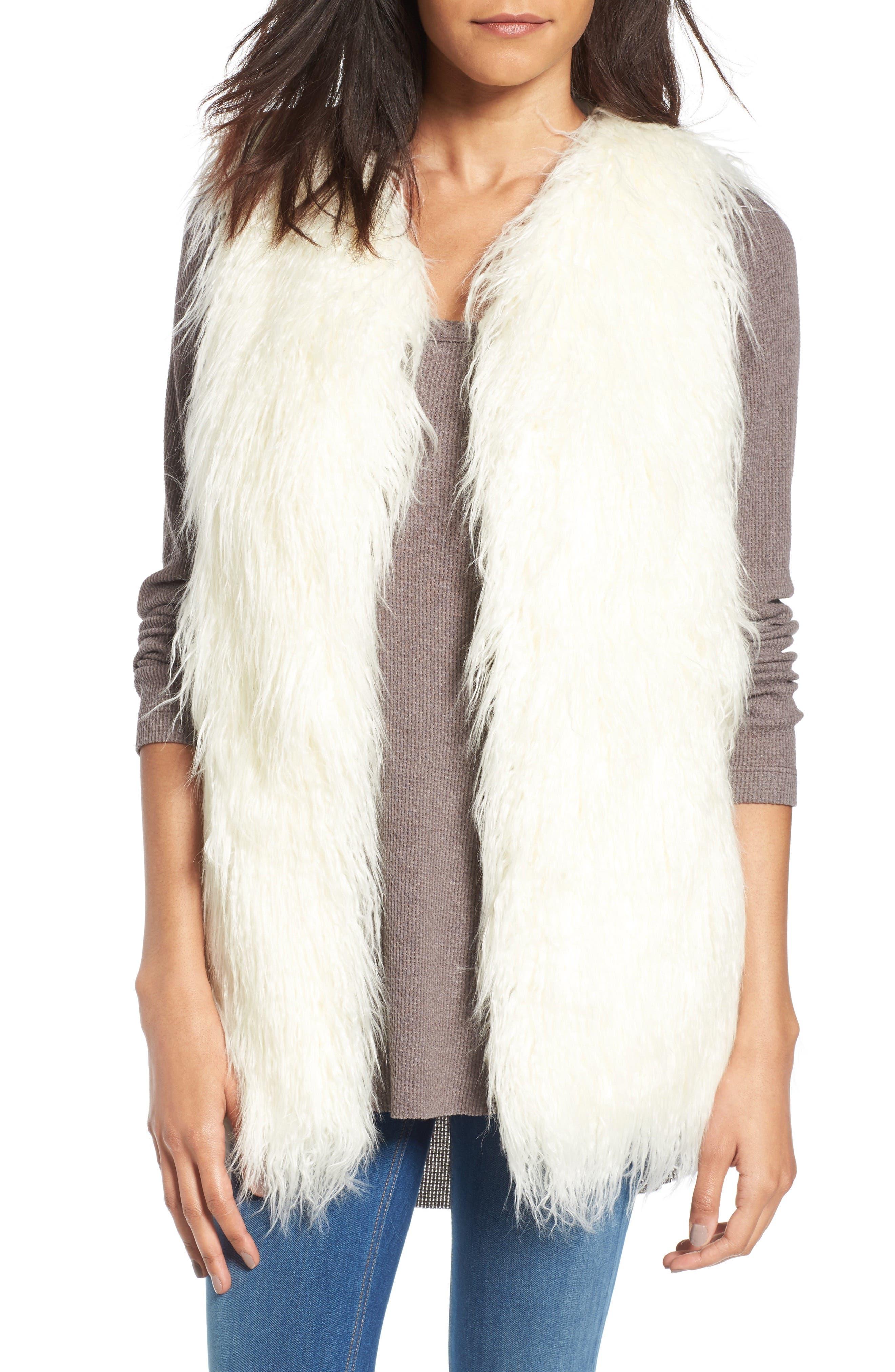 Alternate Image 1 Selected - Hinge Faux Fur Vest