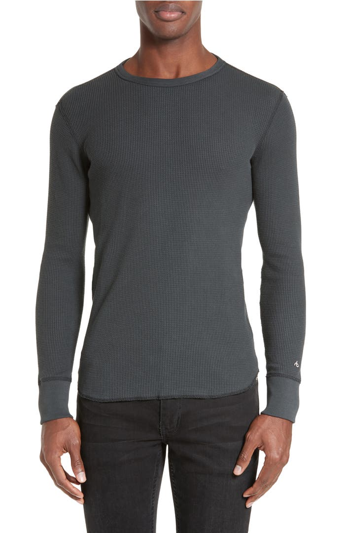 Rag bone standard issue long sleeve thermal t shirt Thermal t shirt long sleeve