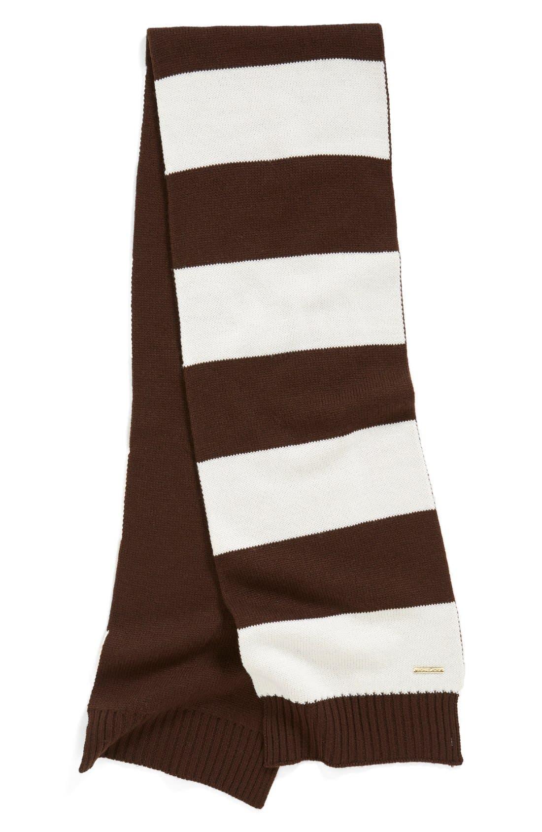 Alternate Image 2  - MICHAEL Michael Kors Reversible Knit Scarf