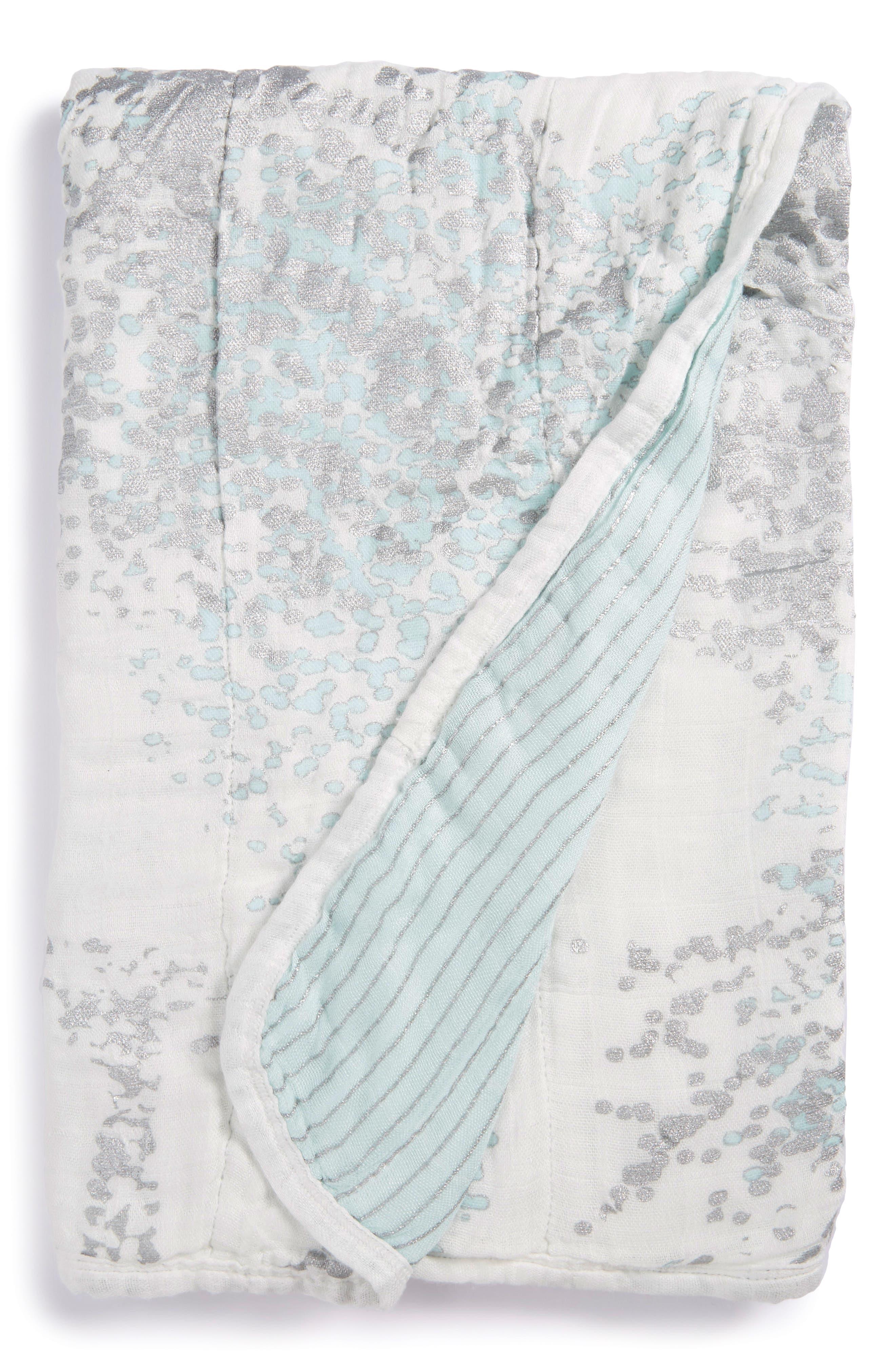Alternate Image 1 Selected - aden + anais Silky Soft Stroller Blanket