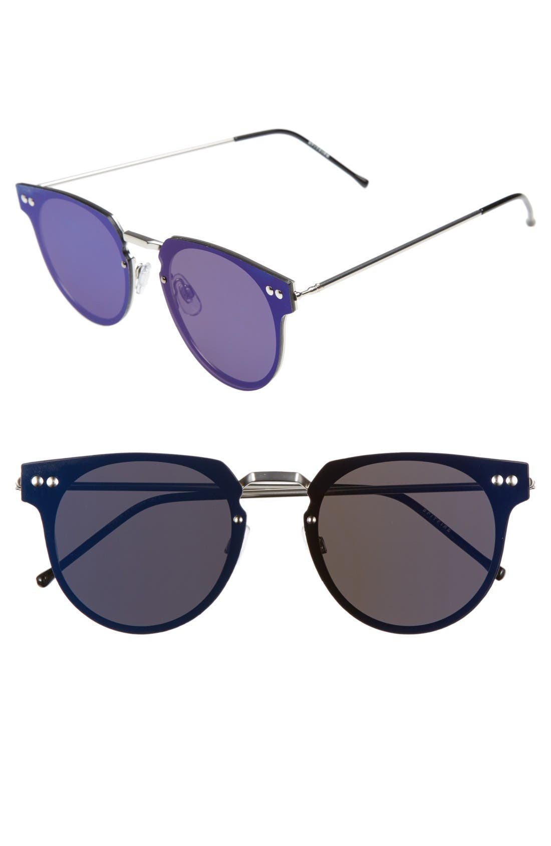 Spitfire Cyber 48mm Mirrored Lens Sunglasses