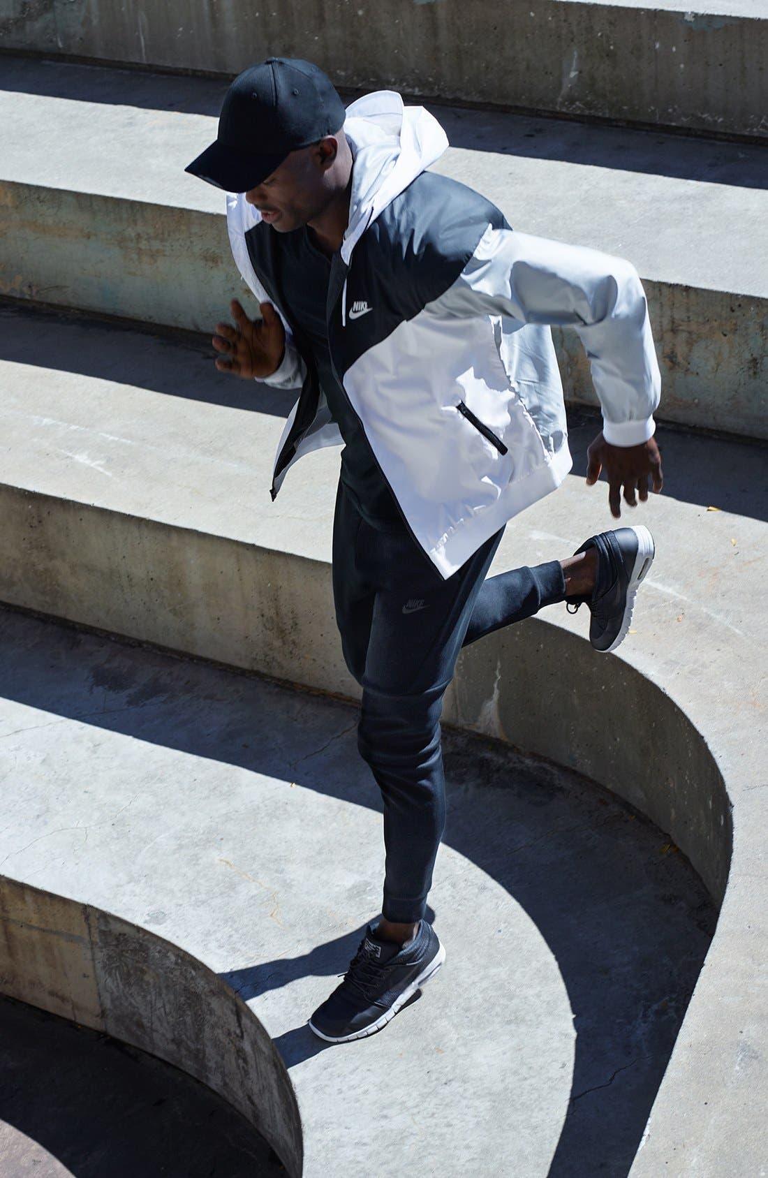 Alternate Image 7  - Nike 'Windrunner' Colorblock Jacket