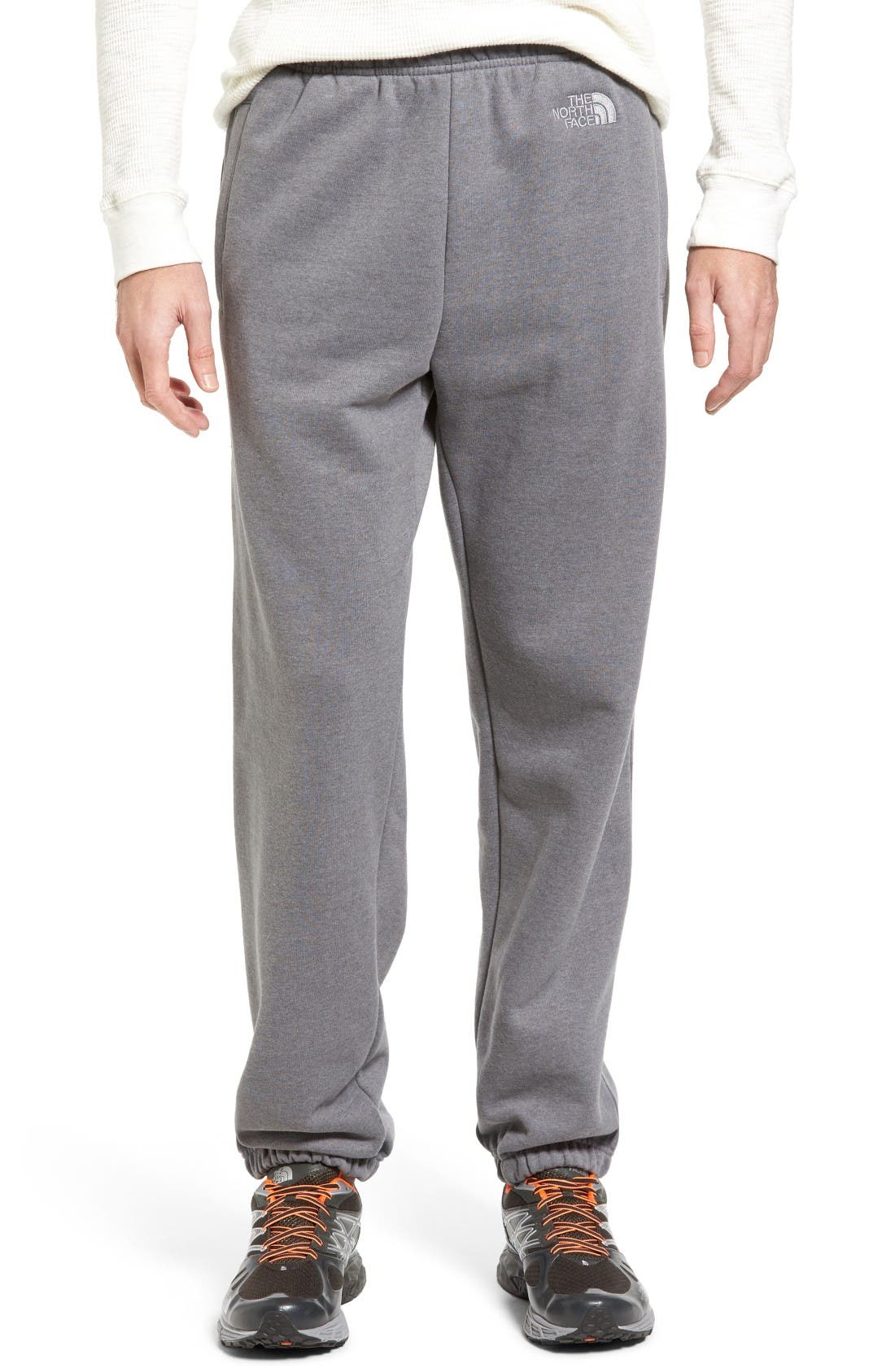 Alternate Image 1 Selected - The North Face 'Logo' Sweatpants