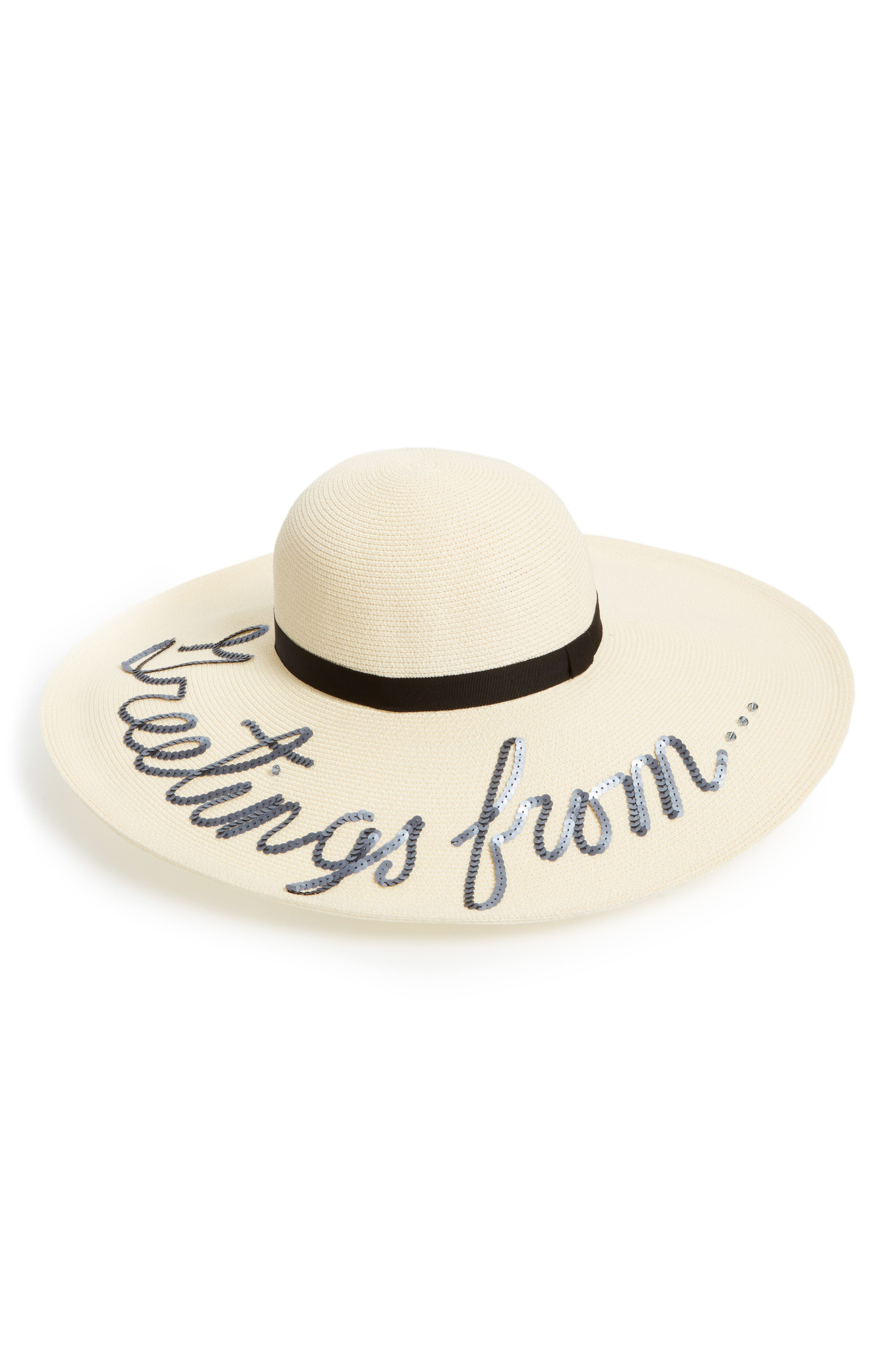 Alternate Image 1 Selected - Eugenia Kim Greetings From Hat