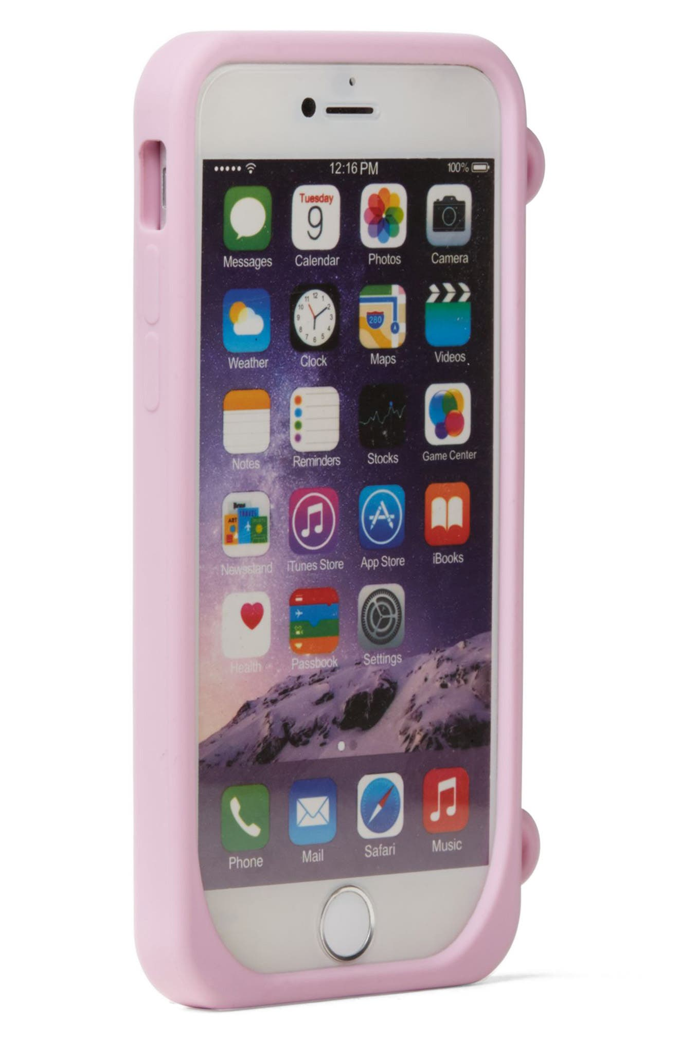 Alternate Image 2  - kate spade new york who moi? miss piggy iPhone 7 case on a chain
