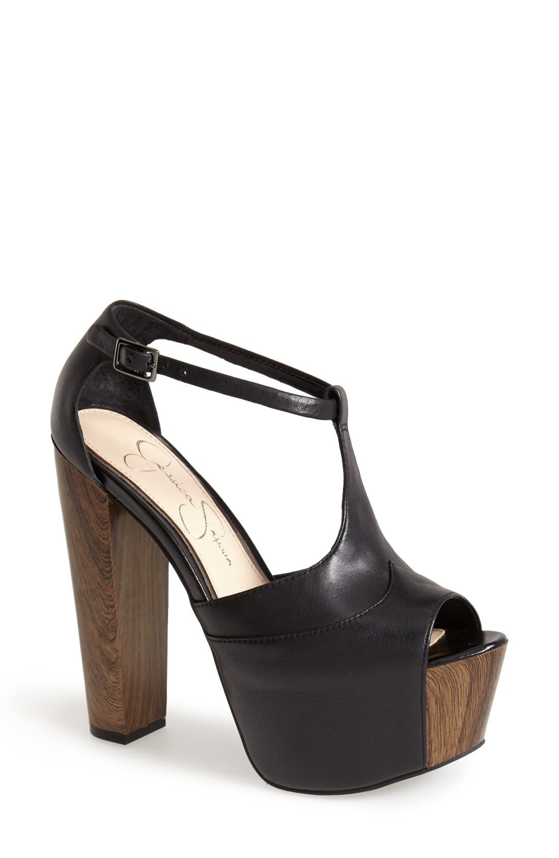 Alternate Image 1 Selected - Jessica Simpson 'Dany' Sandal