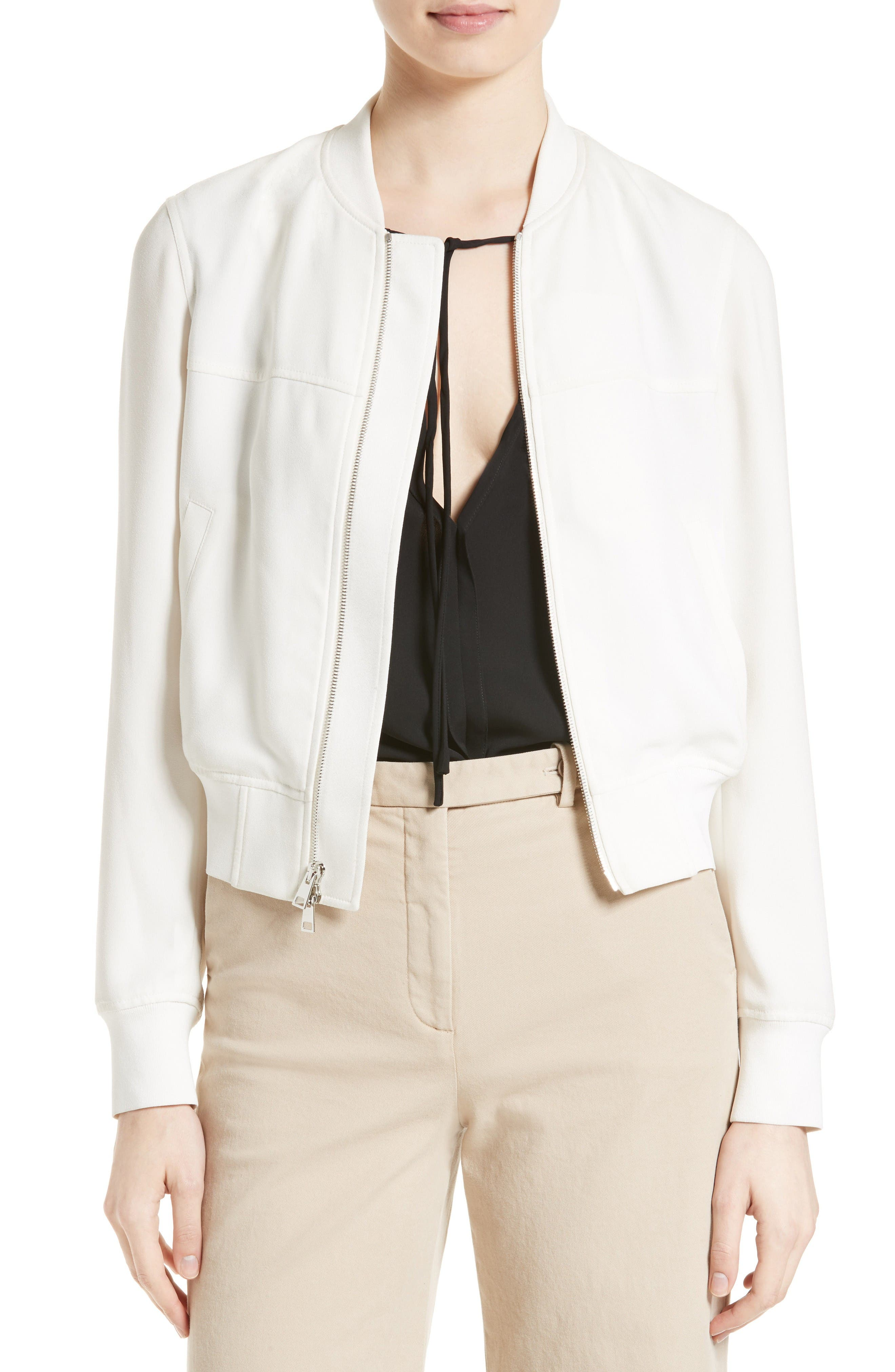 Main Image - Theory Daryette B Elevate Crepe Jacket