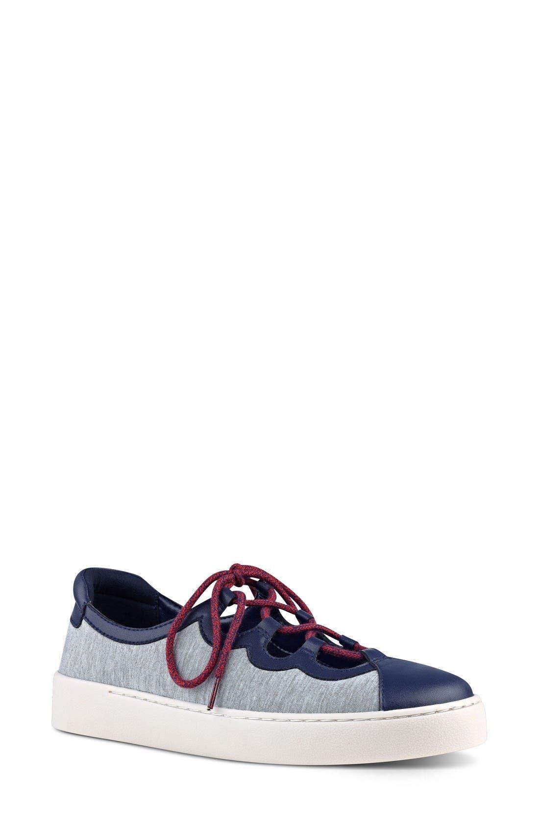 NINE WEST Pylot Lace-Up Sneaker