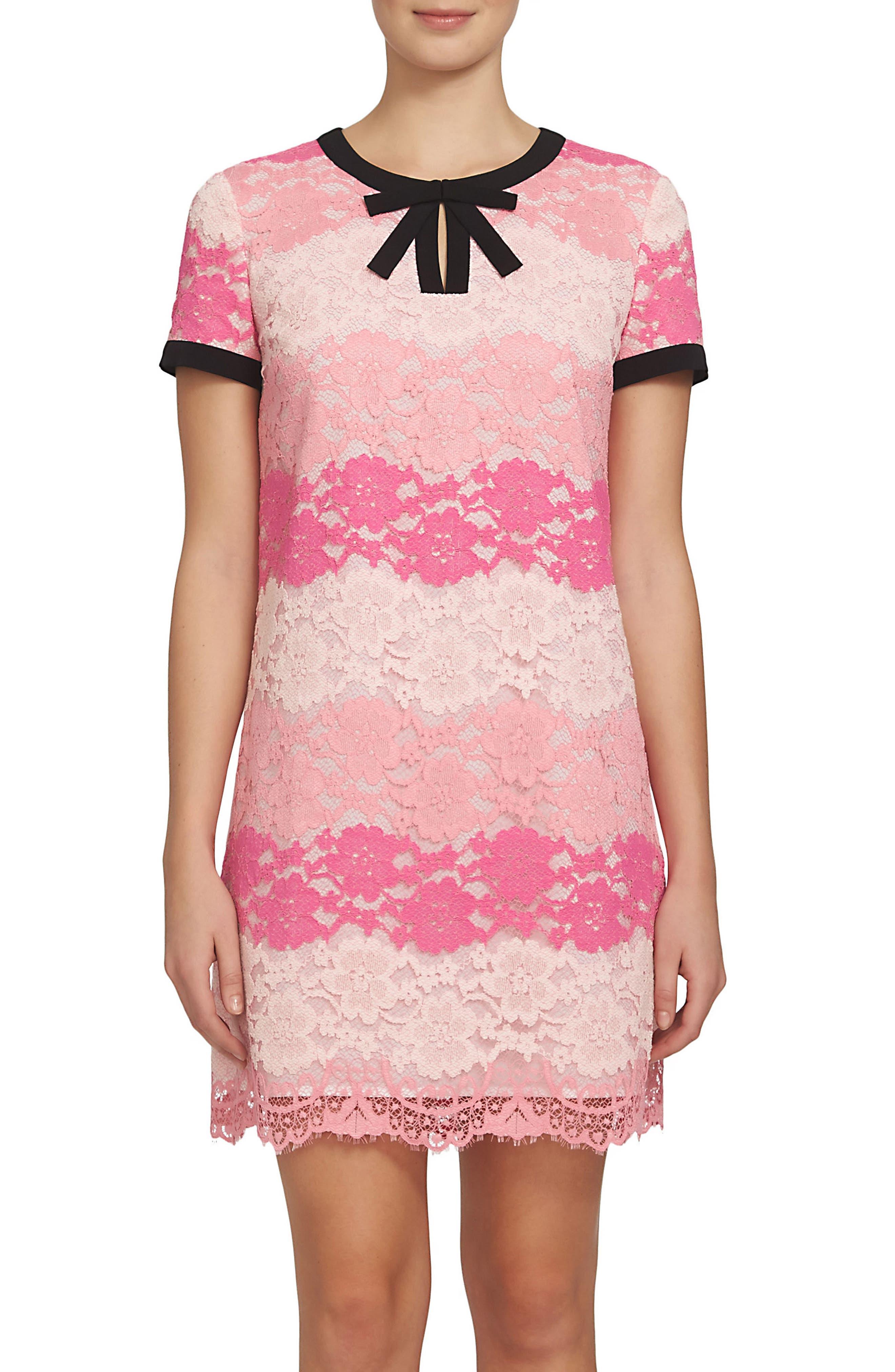 CECE Brandy Lace Shift Dress