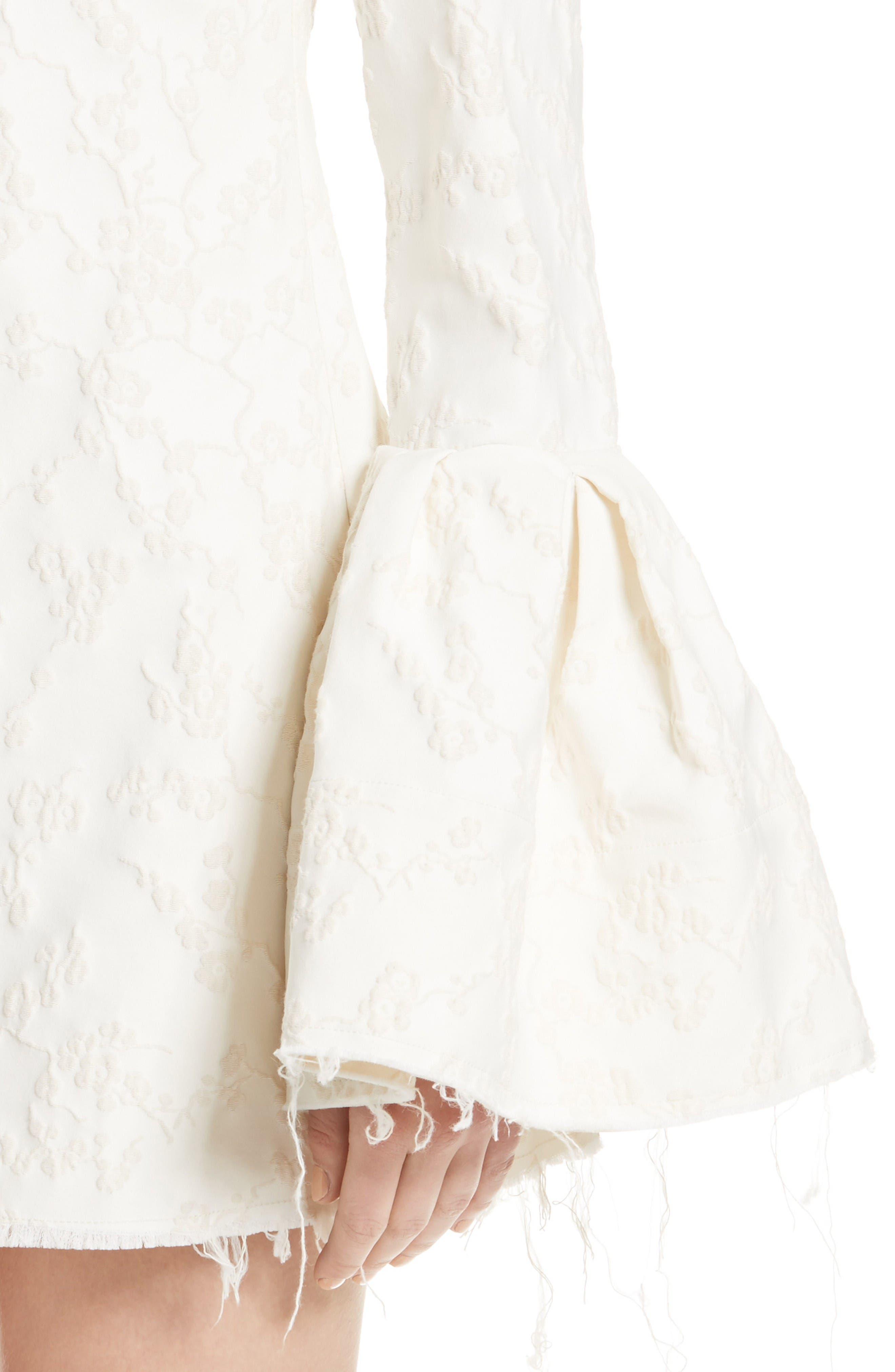 Alternate Image 6  - Marques'Almeida Bell Sleeve Minidress