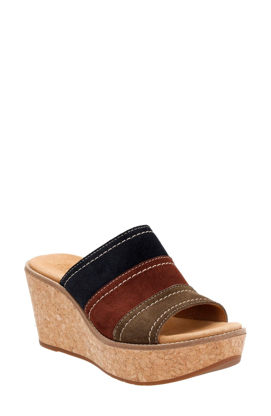 Clarks® Aisley Lily Wedge Sandal (Women)