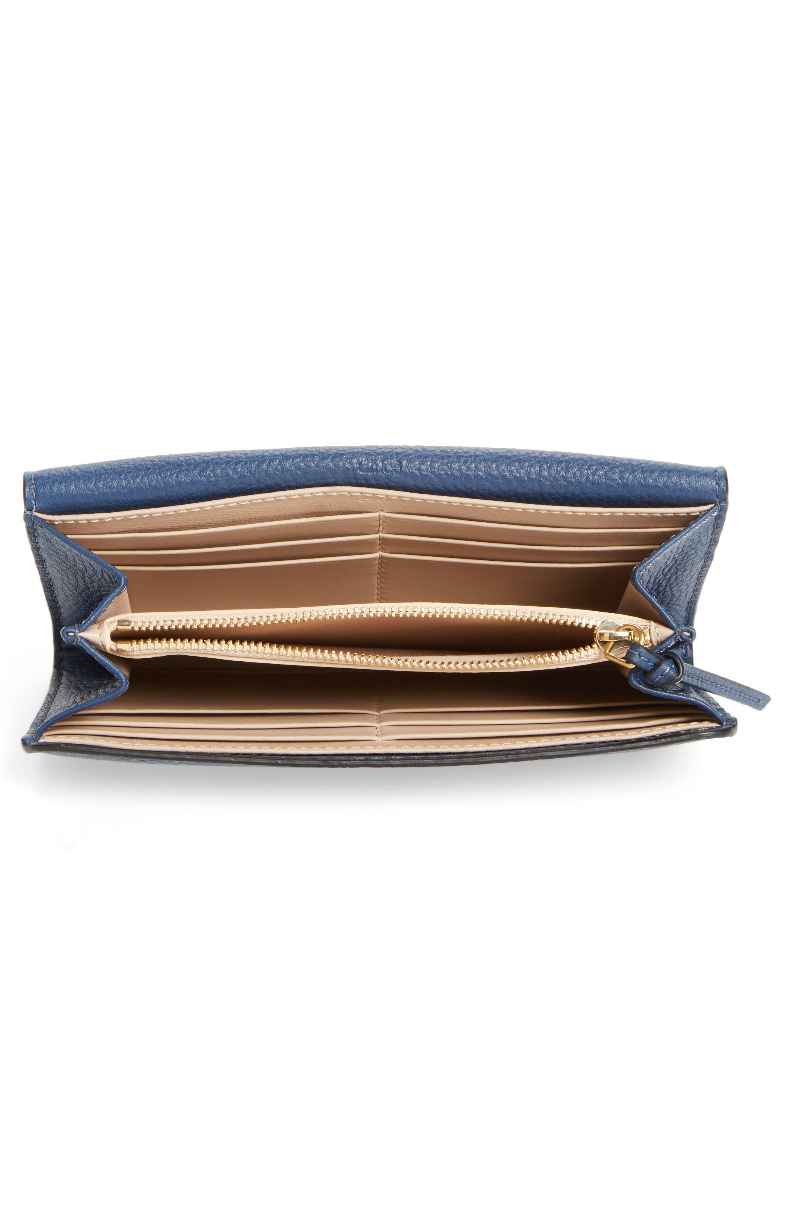 Alternate Image 3  - Chloé 'Marcie - Long' Leather Flap Wallet