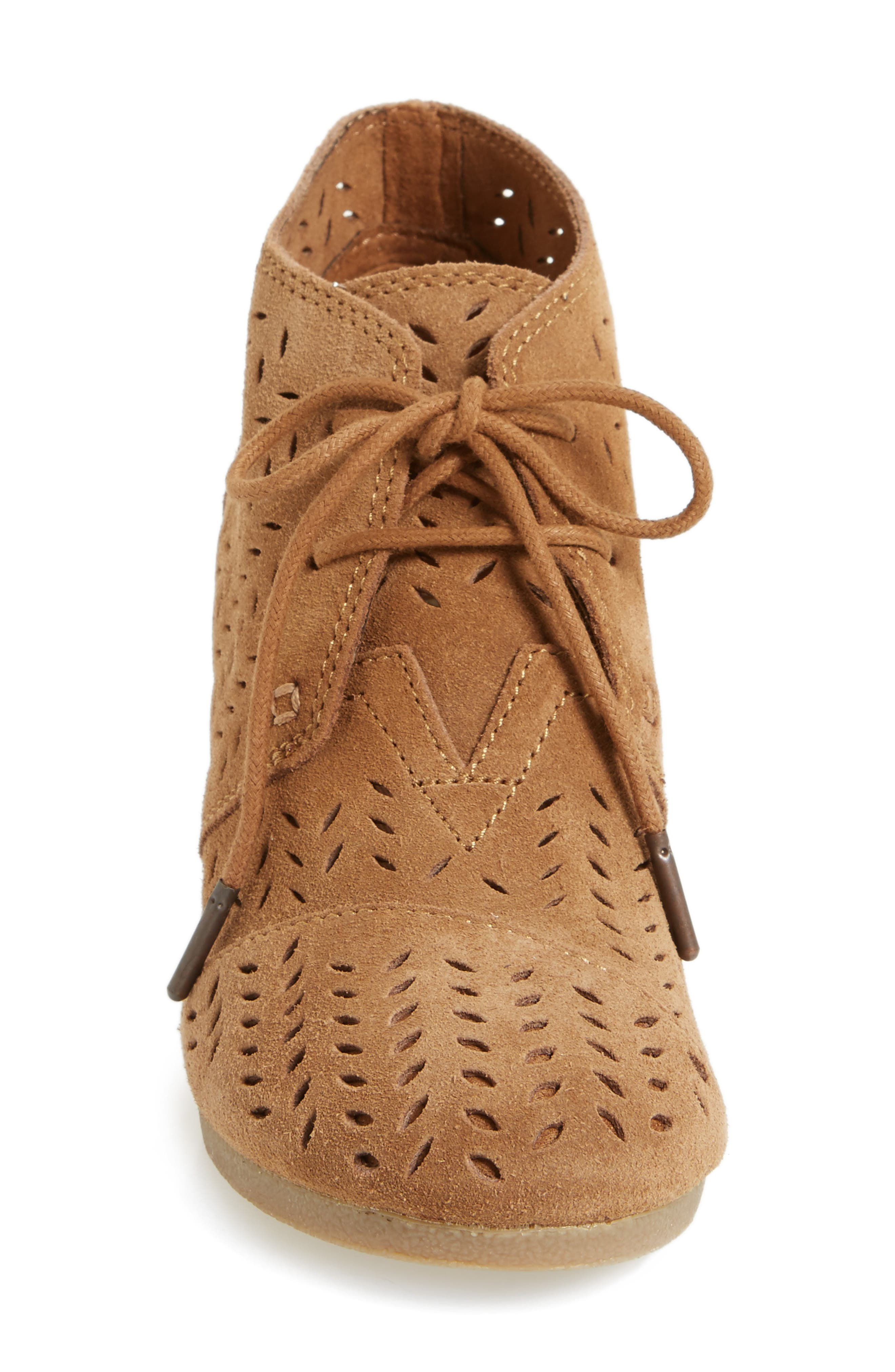 Alternate Image 3  - TOMS Perforated Chukka Wedge Boot (Women)