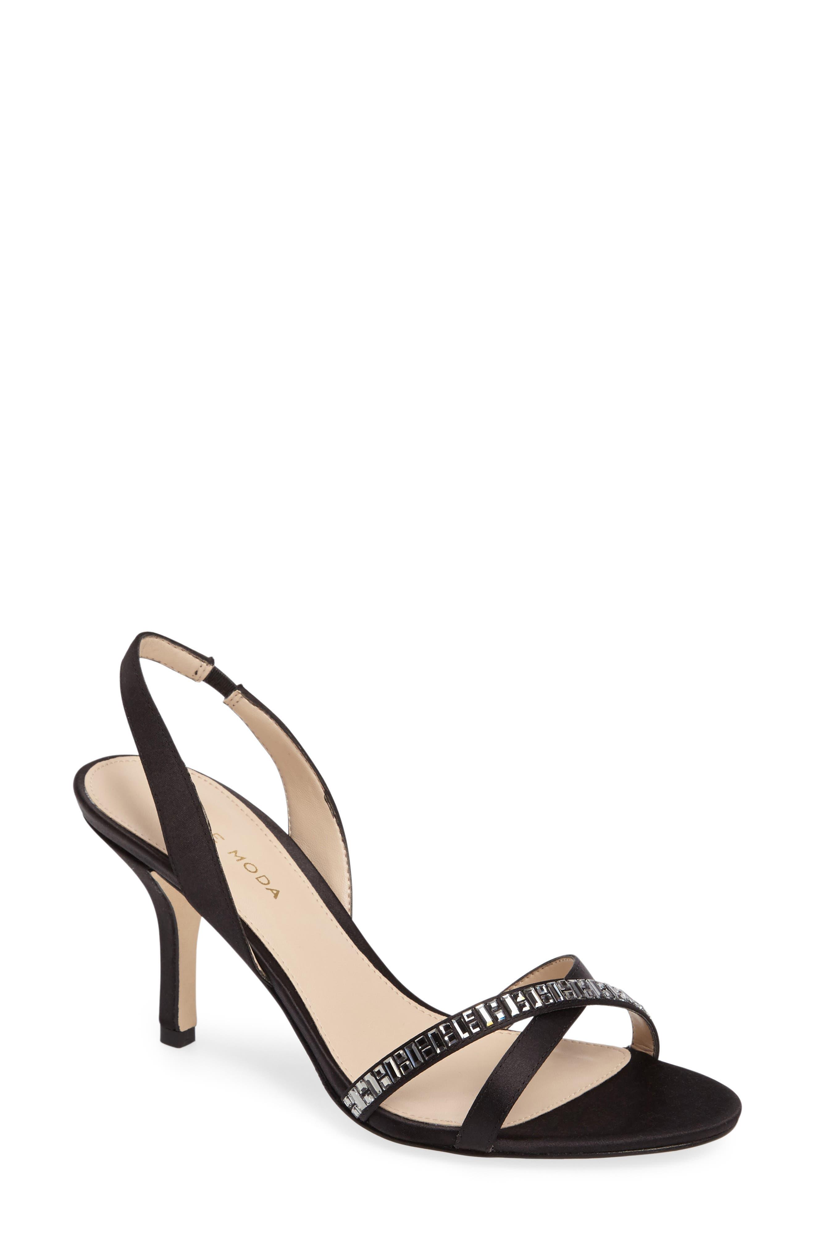 Pelle Moda Inna Embellished Slingback Sandal (Women)