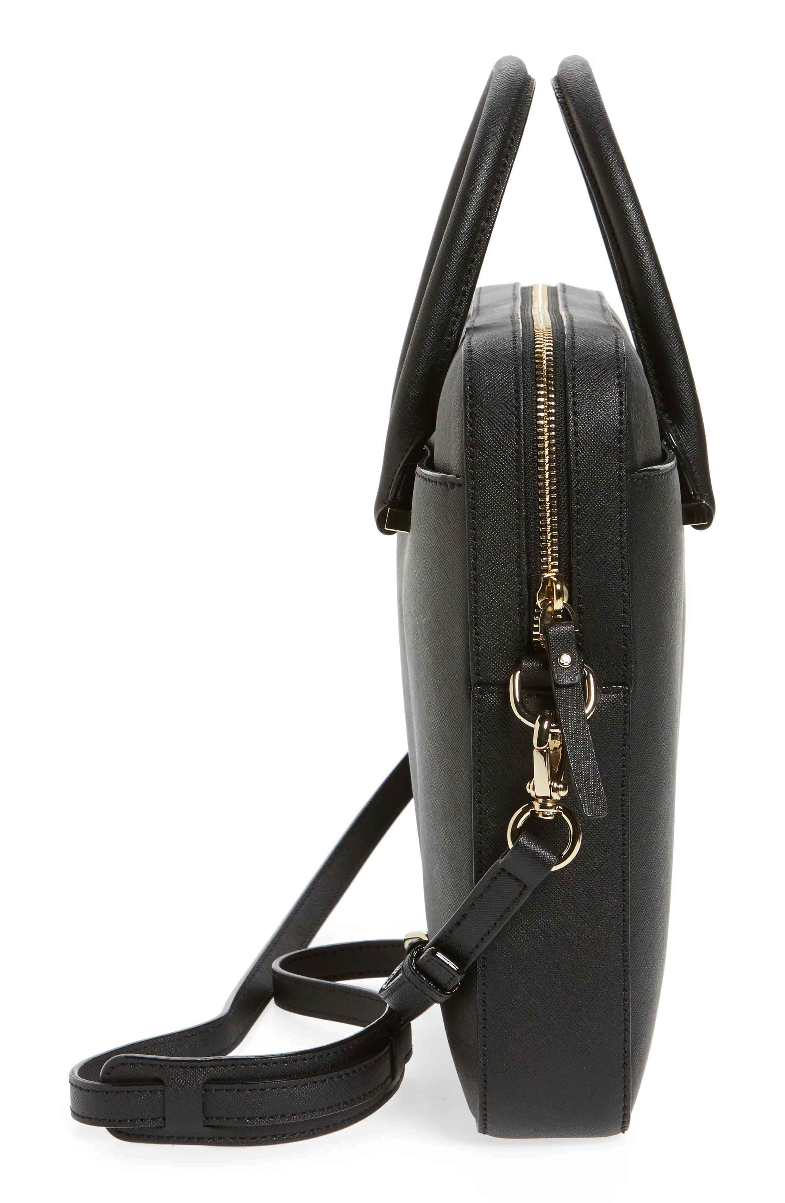 Alternate Image 4  - kate spade new york saffiano leather 13 inch laptop bag