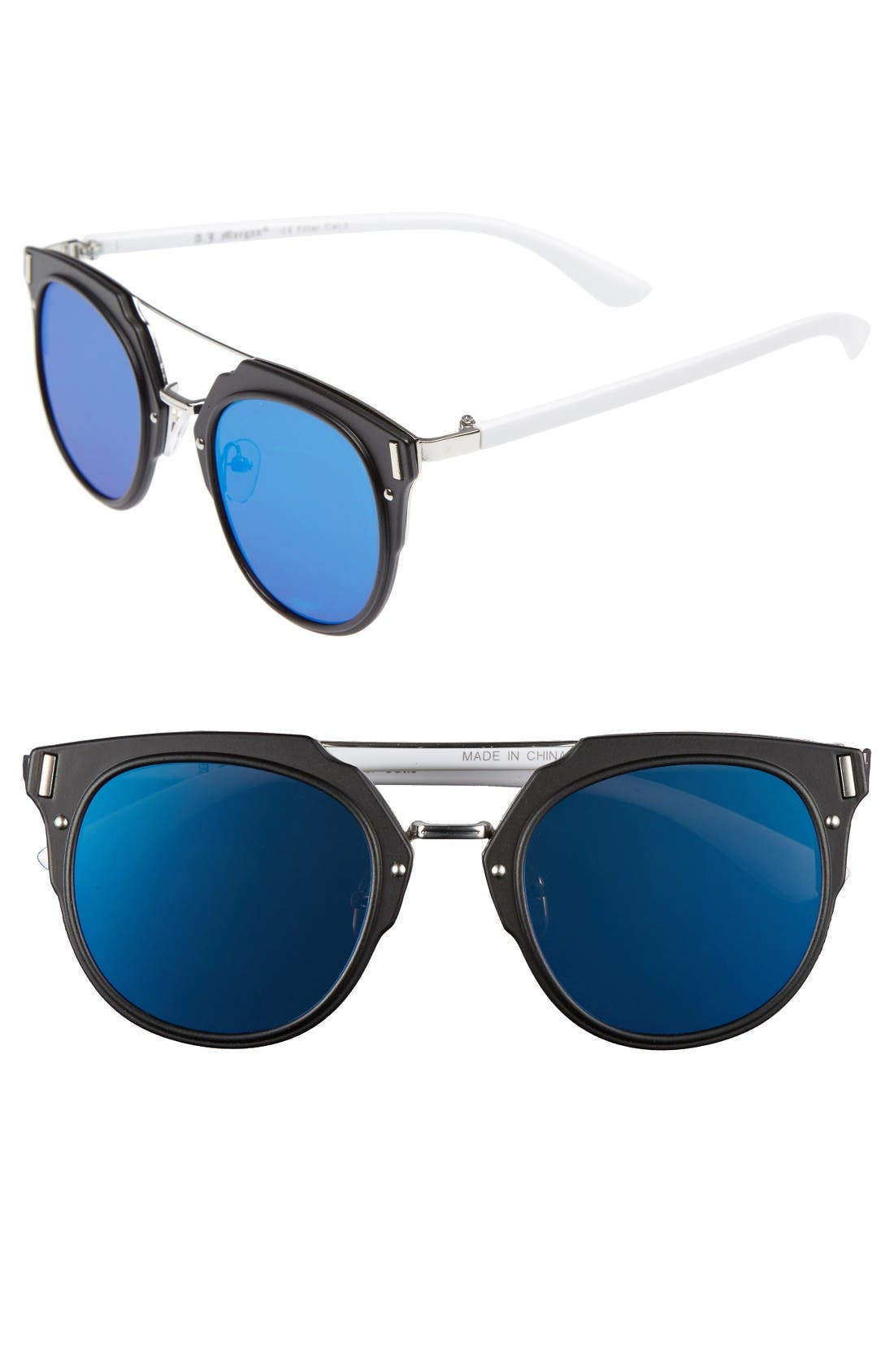 A.J. MORGAN Flats 60mm Sunglasses