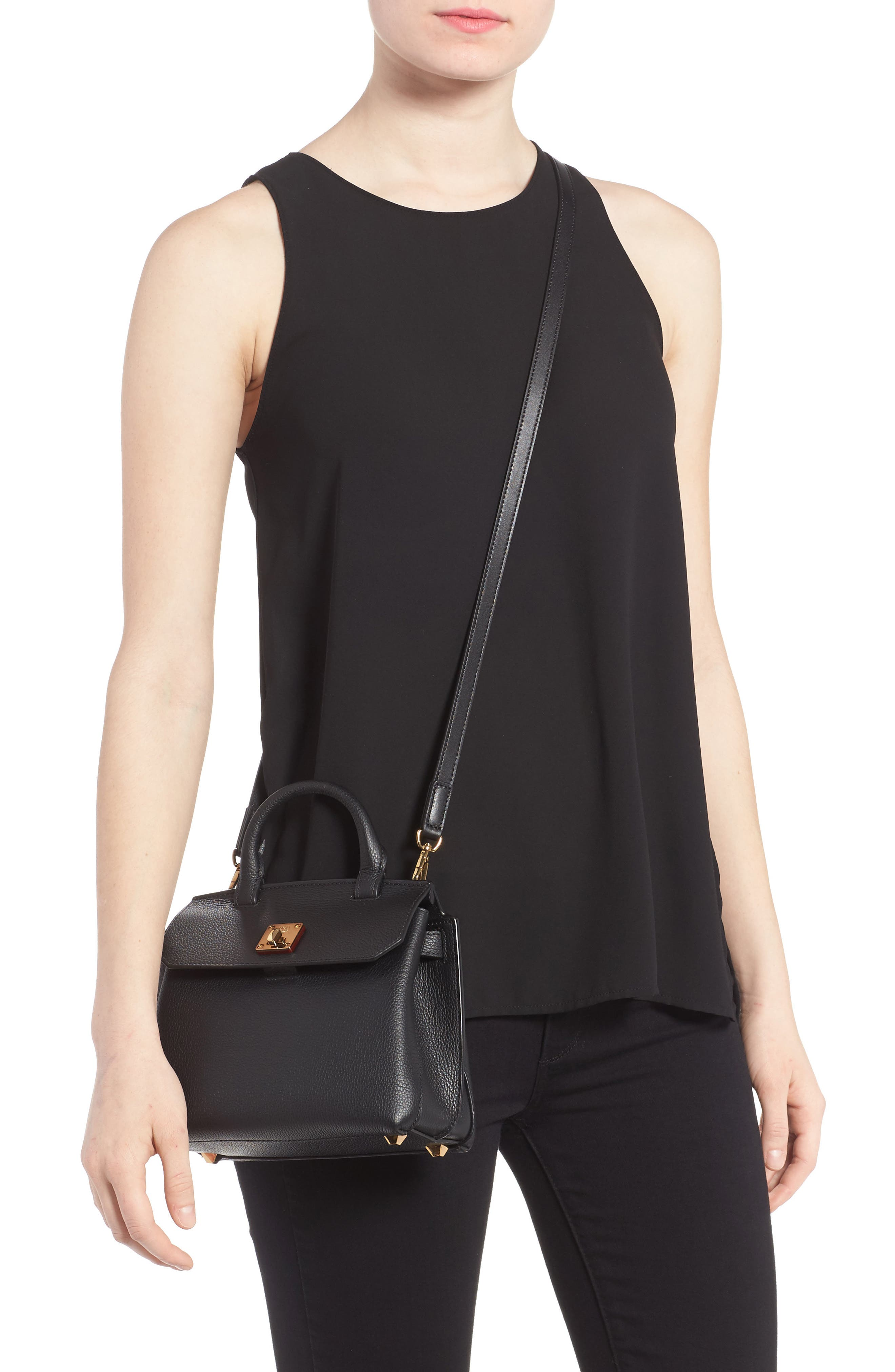 Alternate Image 2  - MCM Milla Leather Crossbody Bag