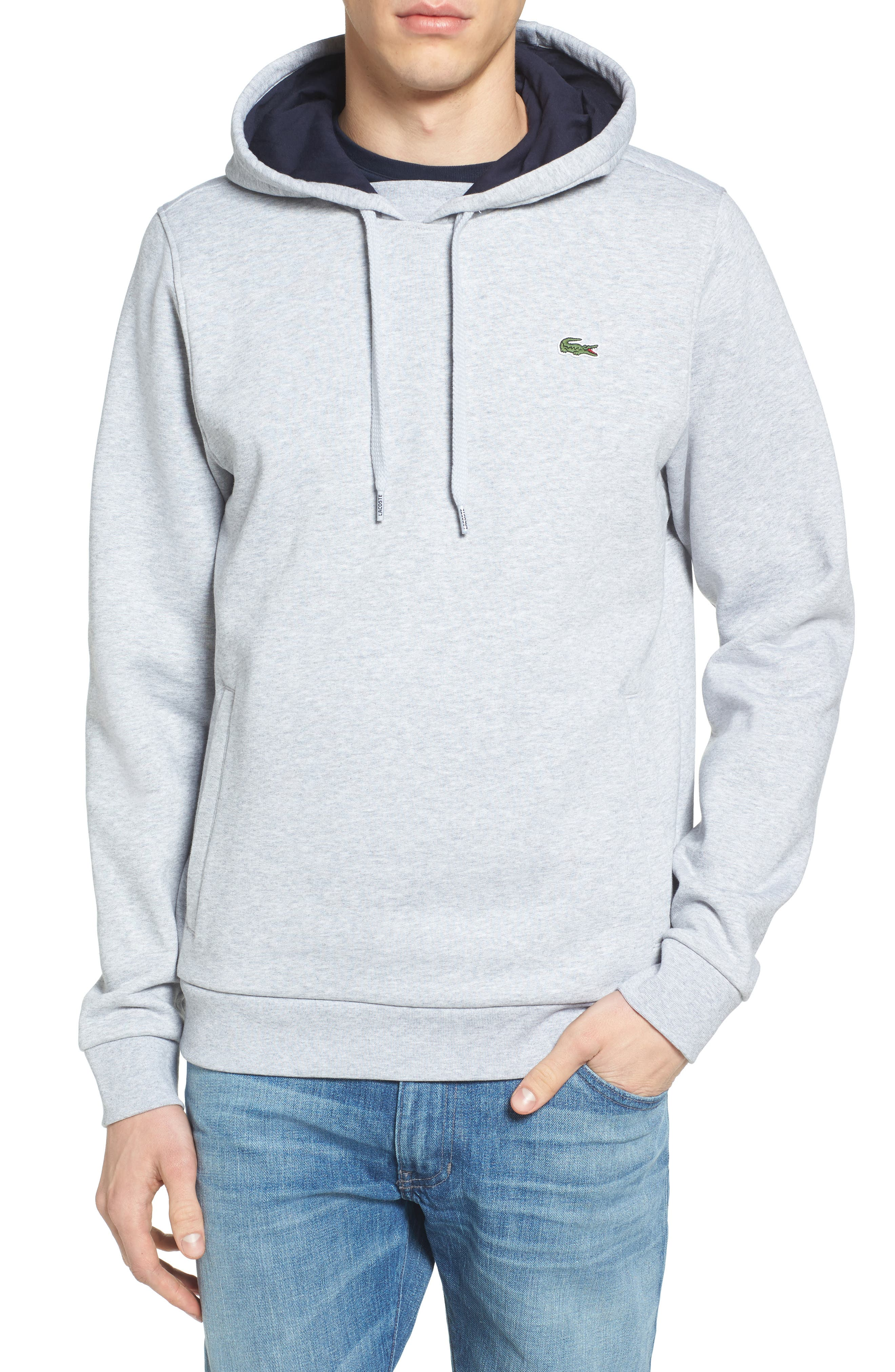Lacoste Sport Cotton Blend Hoodie