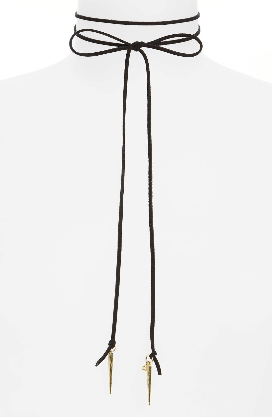 Alternate Image 1 Selected - Karen London Orbit Wraparound Necklace