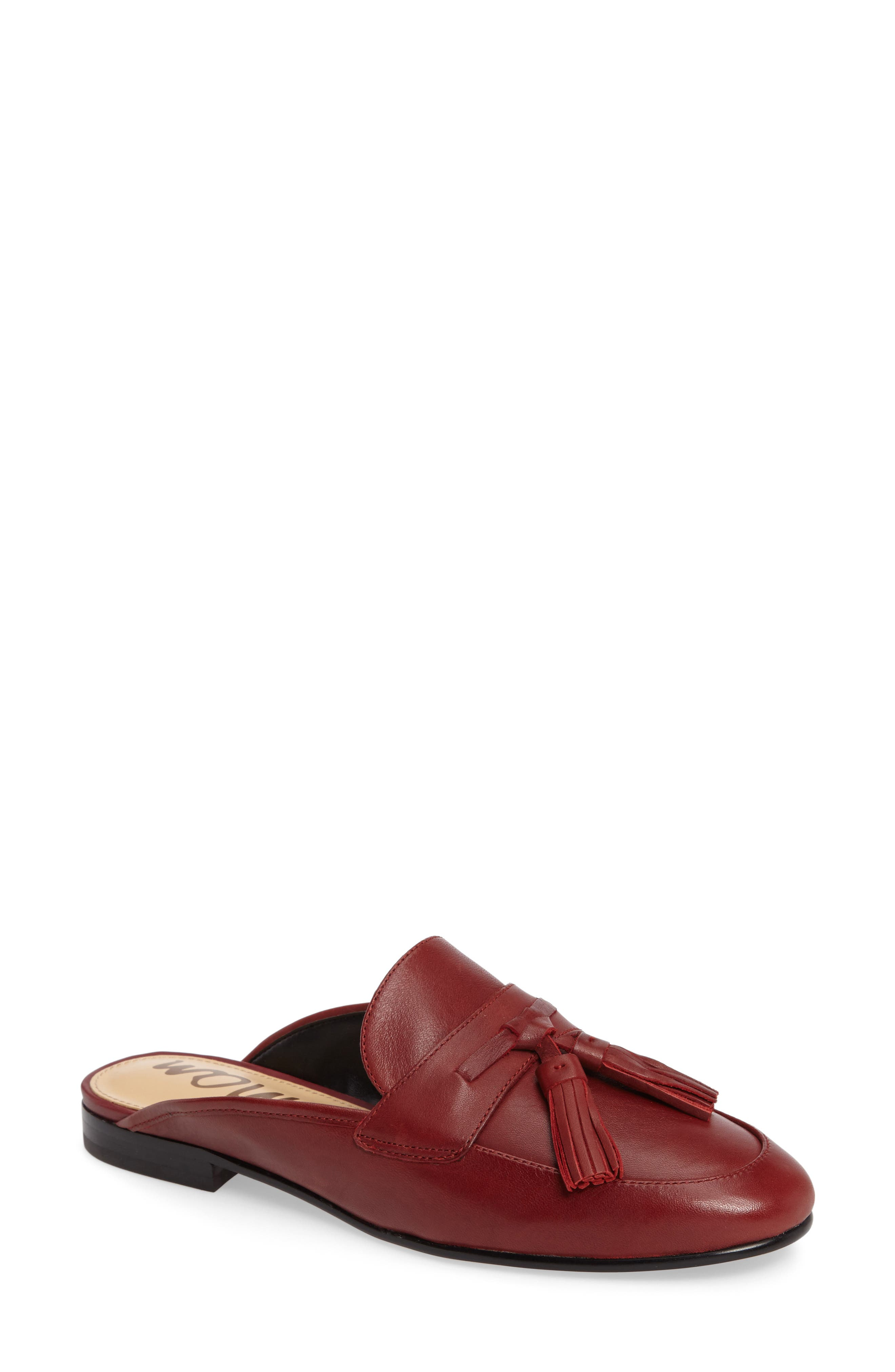 Sam Edelman Paris Backless Tassel Loafer (Women)