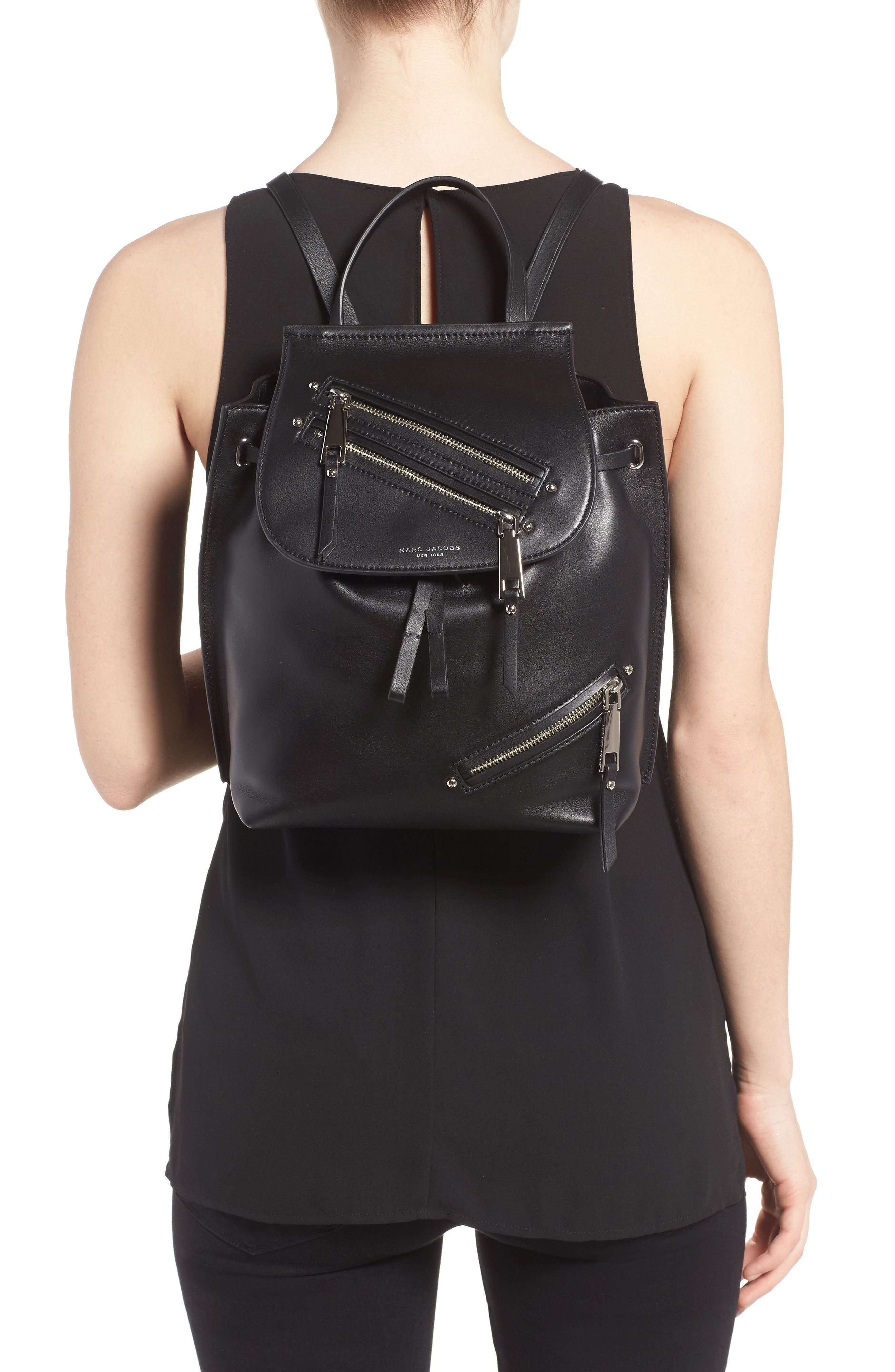 Alternate Image 2  - MARC JACOBS Zip Leather Backpack