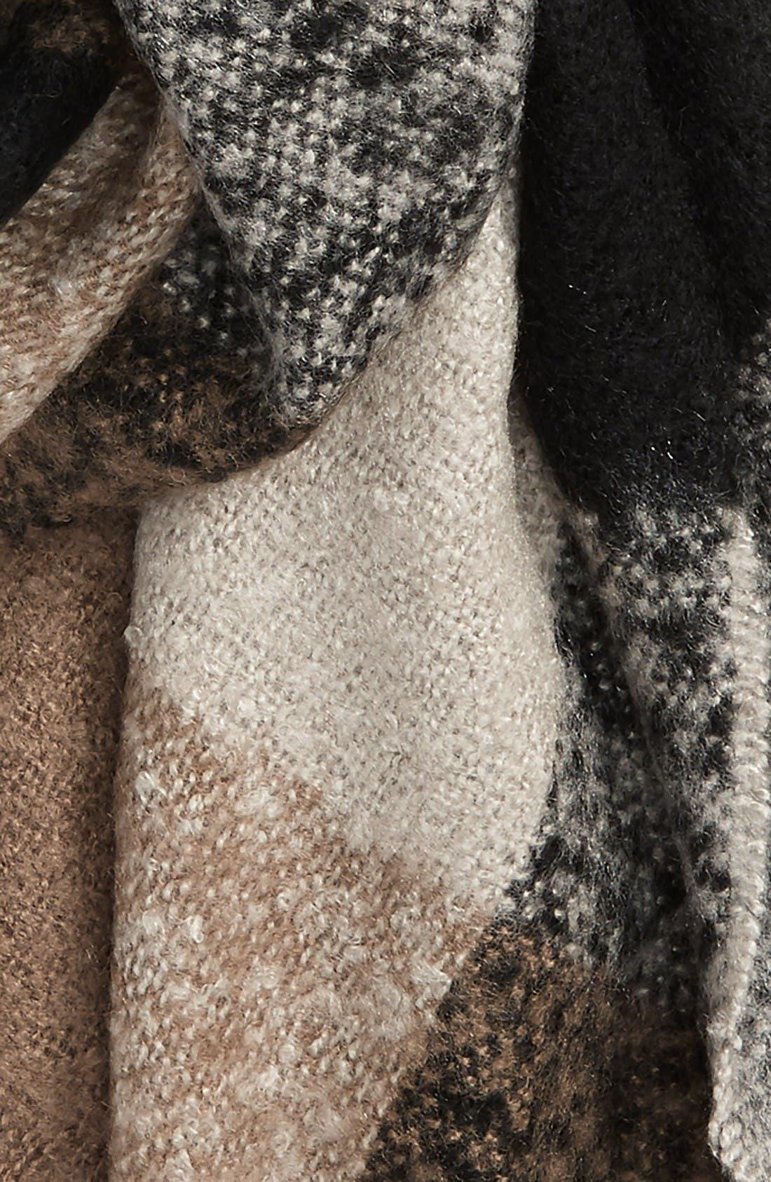 Alternate Image 3  - Sole Society Check Blanket Scarf