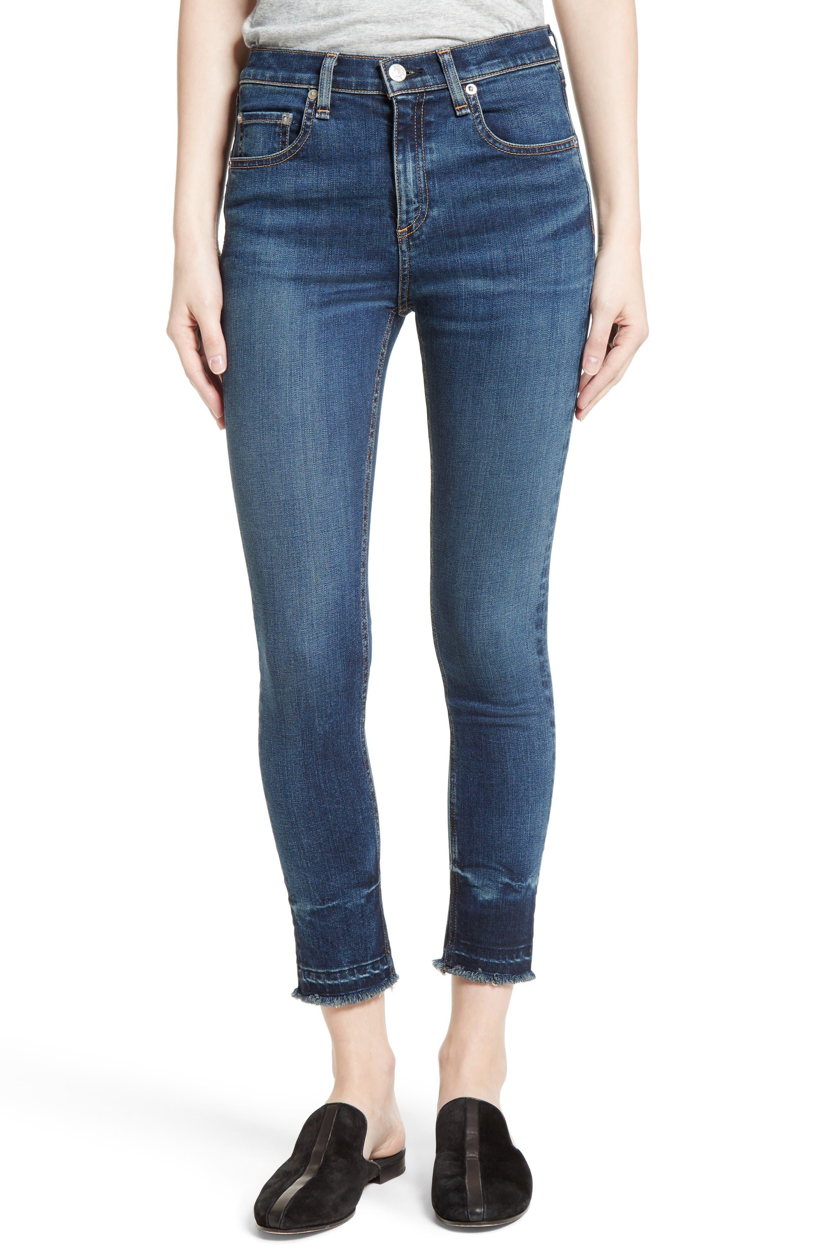 rag & bone/JEAN Capri Skinny Jeans (Stanwix)