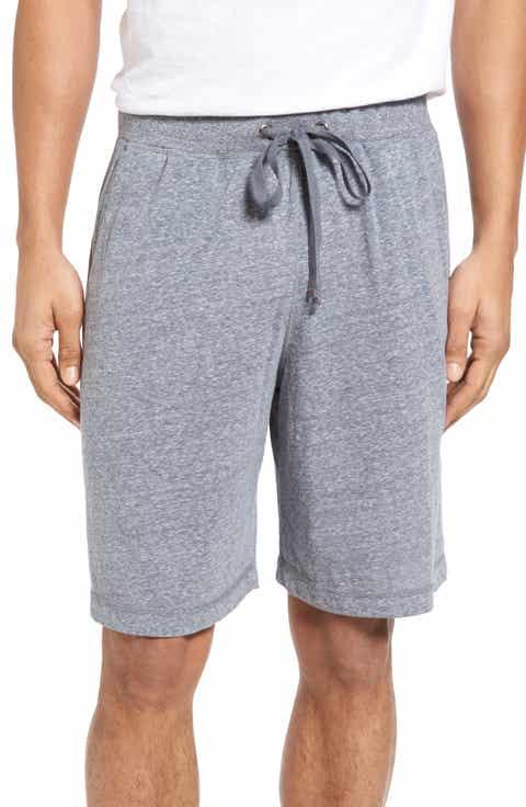 Daniel Buchler Recycled Cotton Blend Lounge Shorts