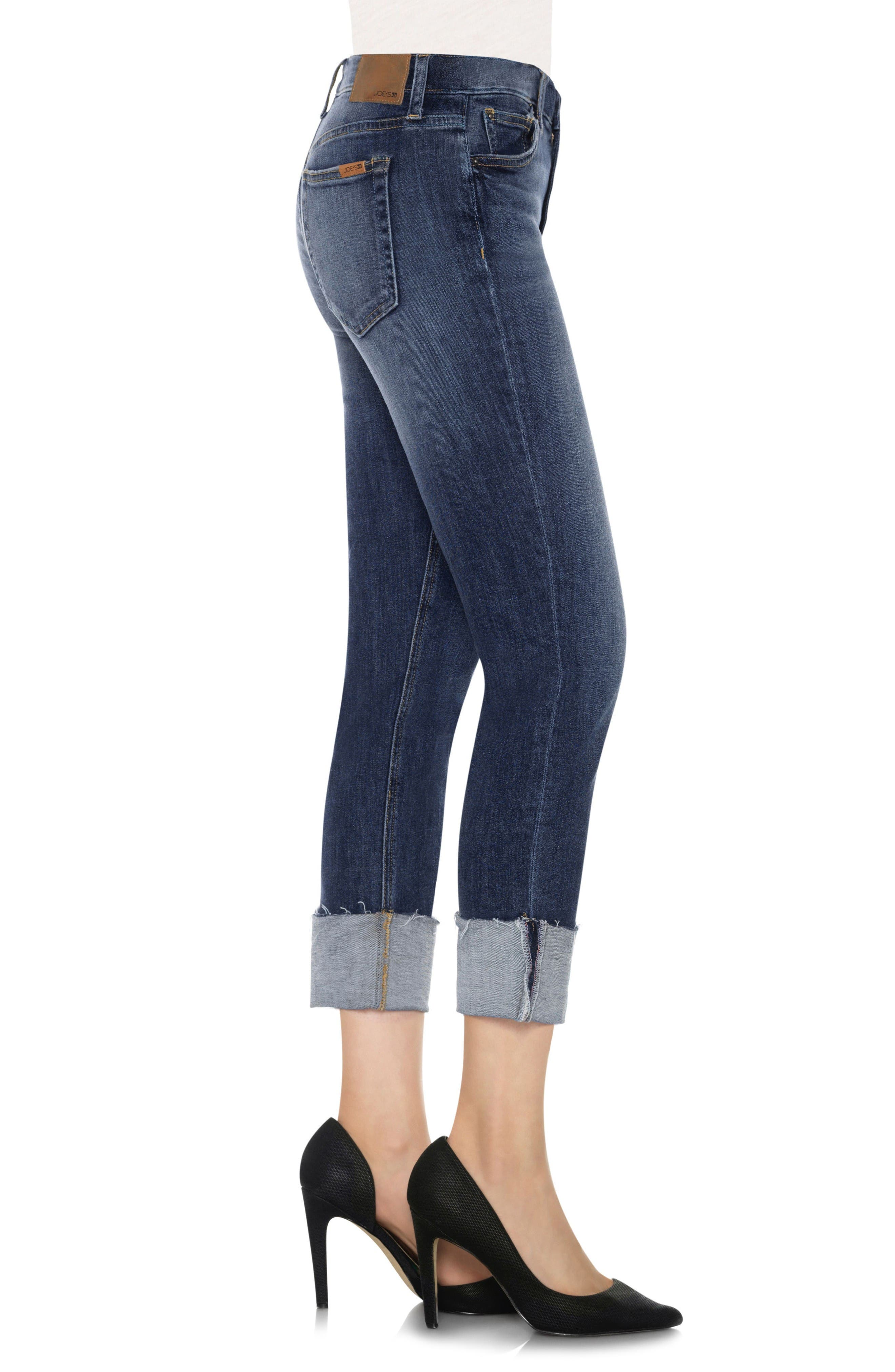 Alternate Image 3  - Joes Collectors Edition - Smith Distressed Crop Boyfriend Jeans (Dionne)
