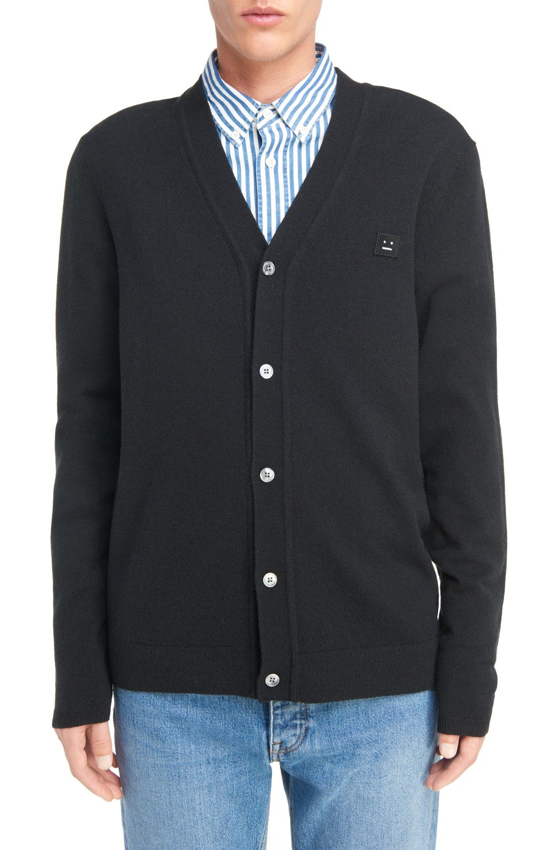 ACNE STUDIOS Dasher C Wool Cardigan
