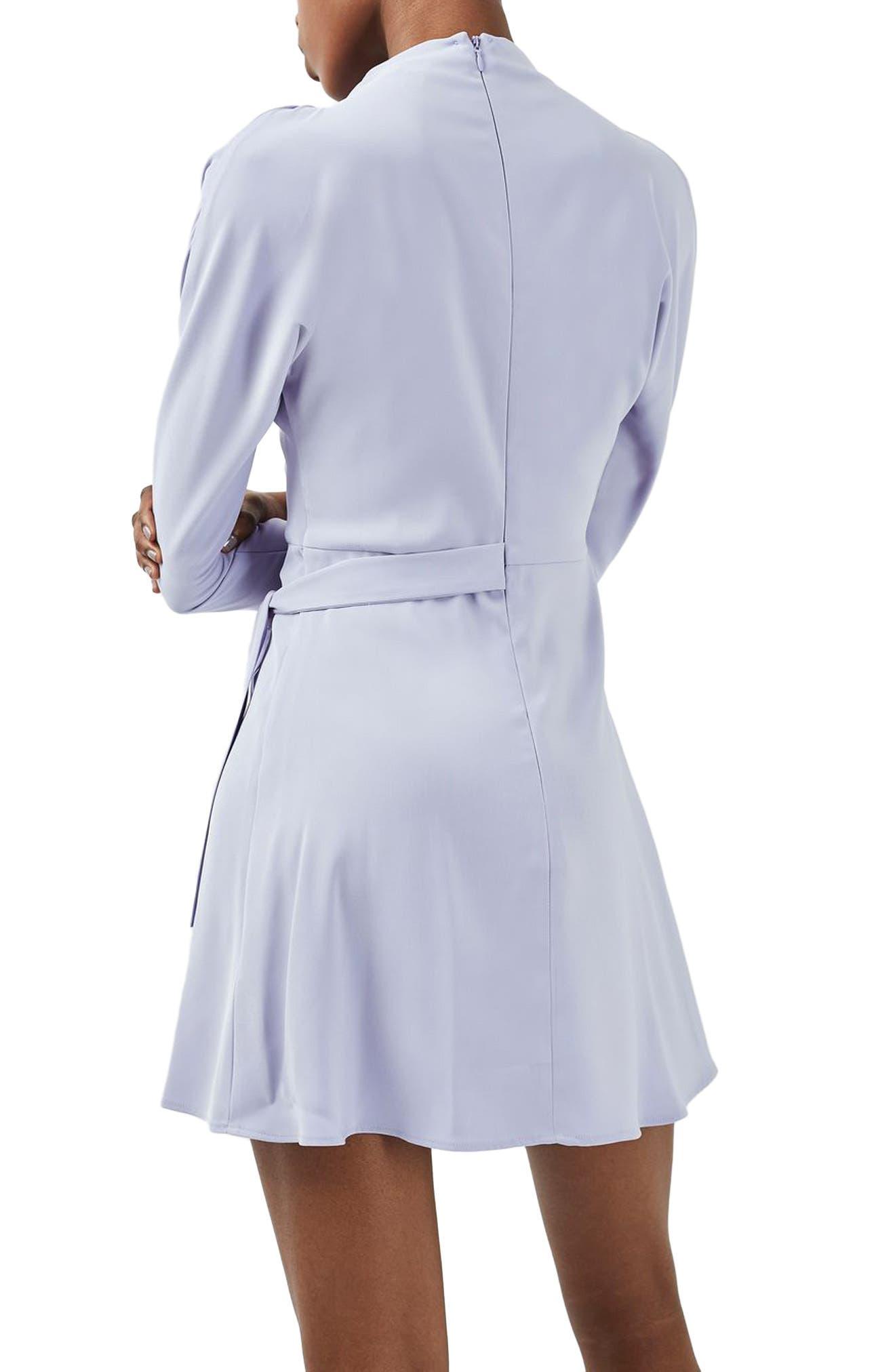 Alternate Image 3  - Topshop Drape Neck Dress