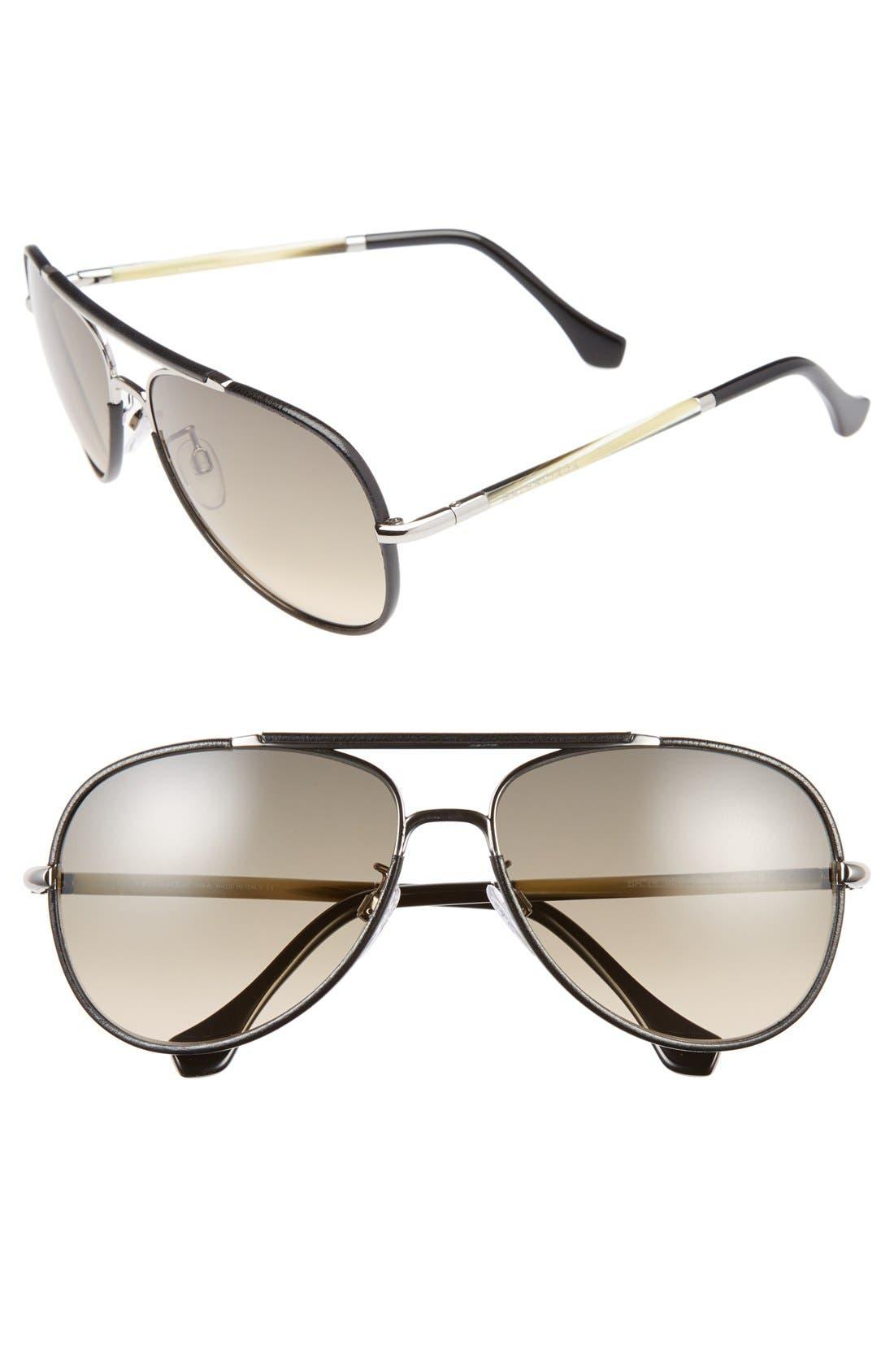 Alternate Image 1 Selected - Balenciaga Paris 60mm Sunglasses