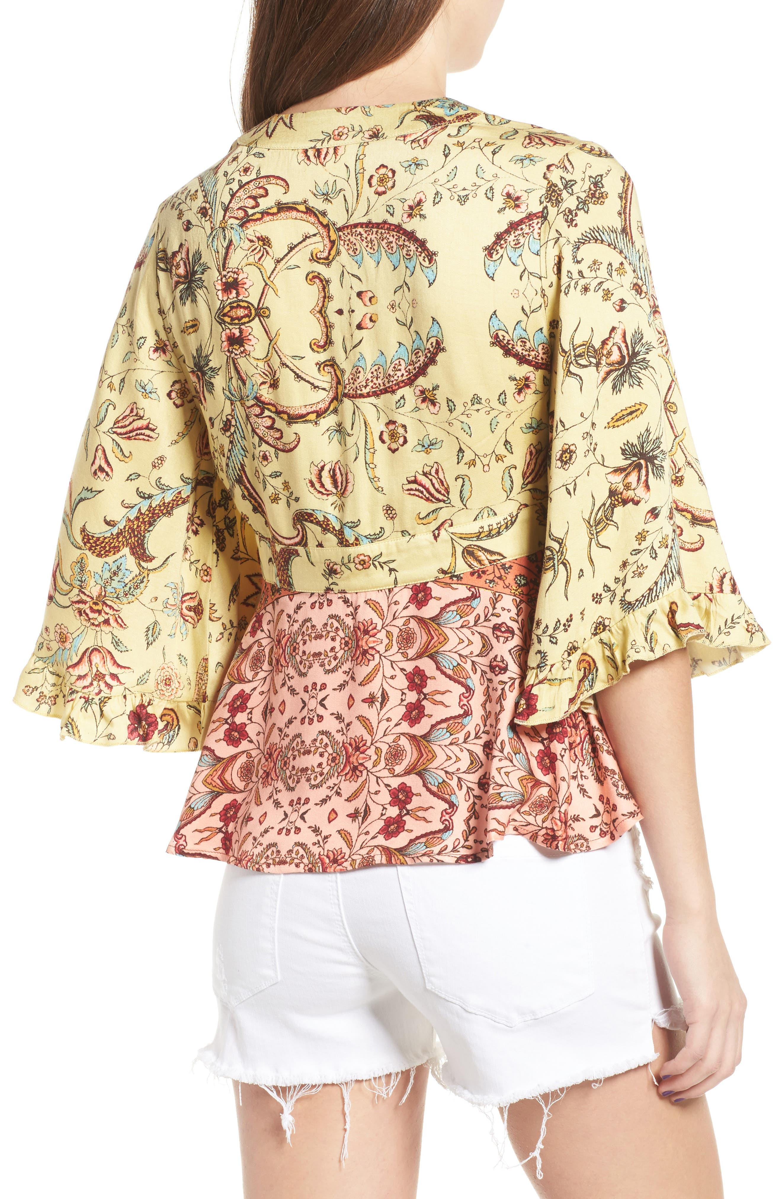 Alternate Image 2  - Somedays Lovin Sounds of Heart Kimono Top