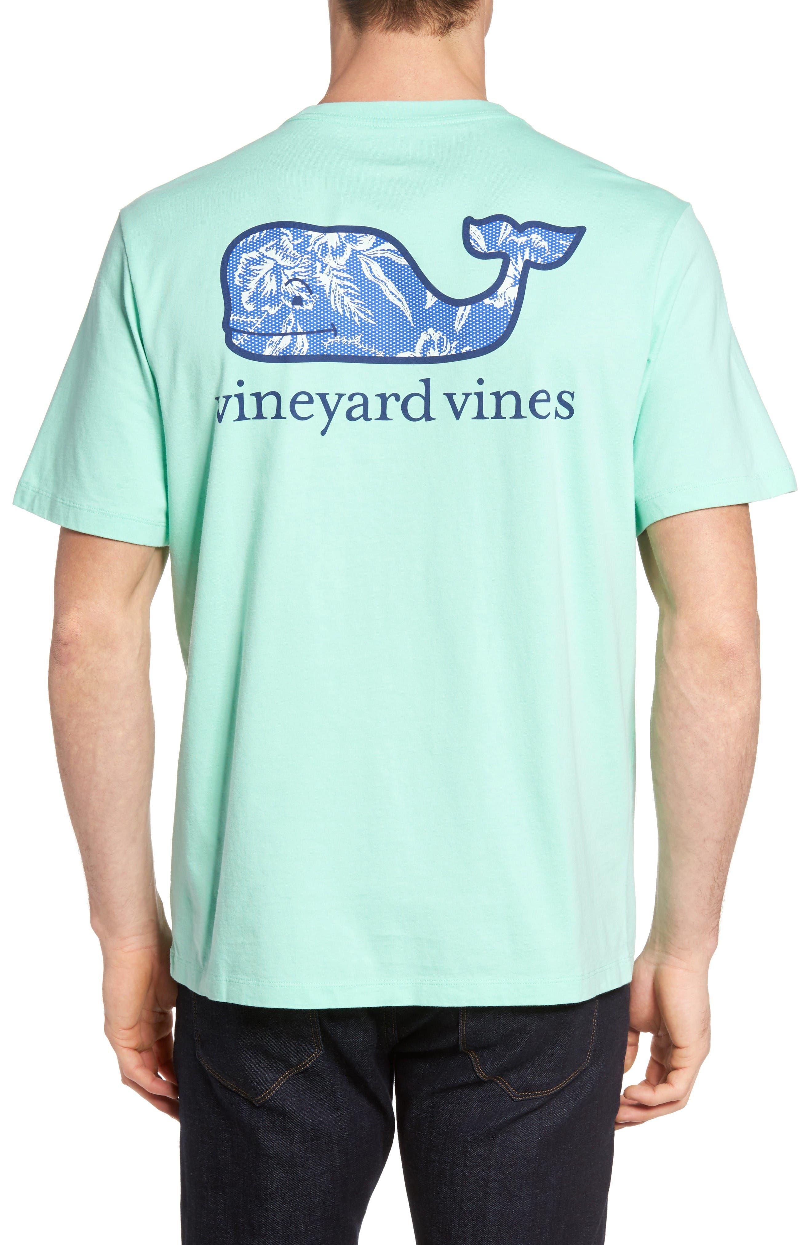 Alternate Image 1 Selected - Vineyard Vines Aquatic Hibiscus T-Shirt