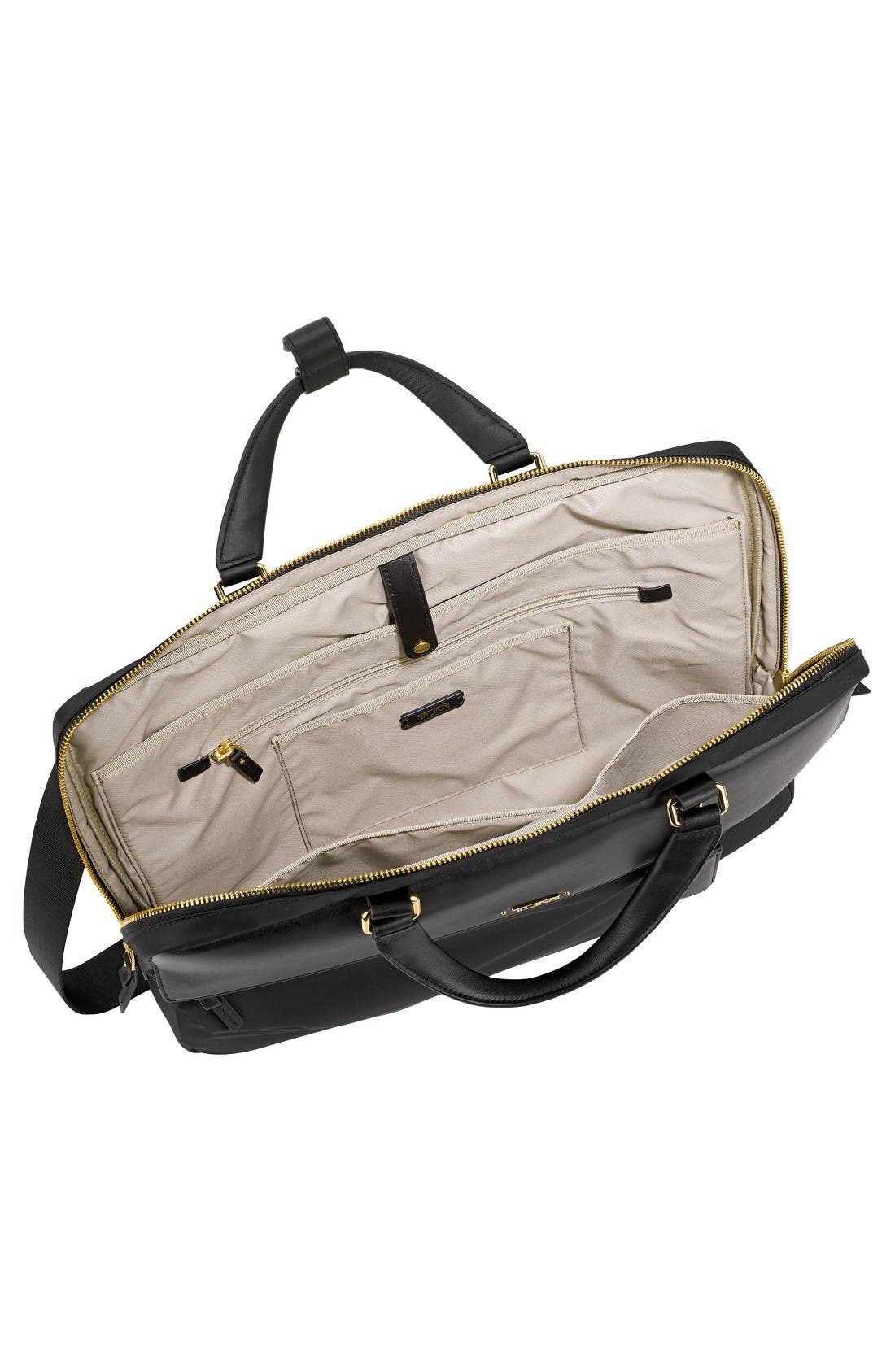 Alternate Image 3  - Tumi Westport Slim Nylon & Leather Briefcase