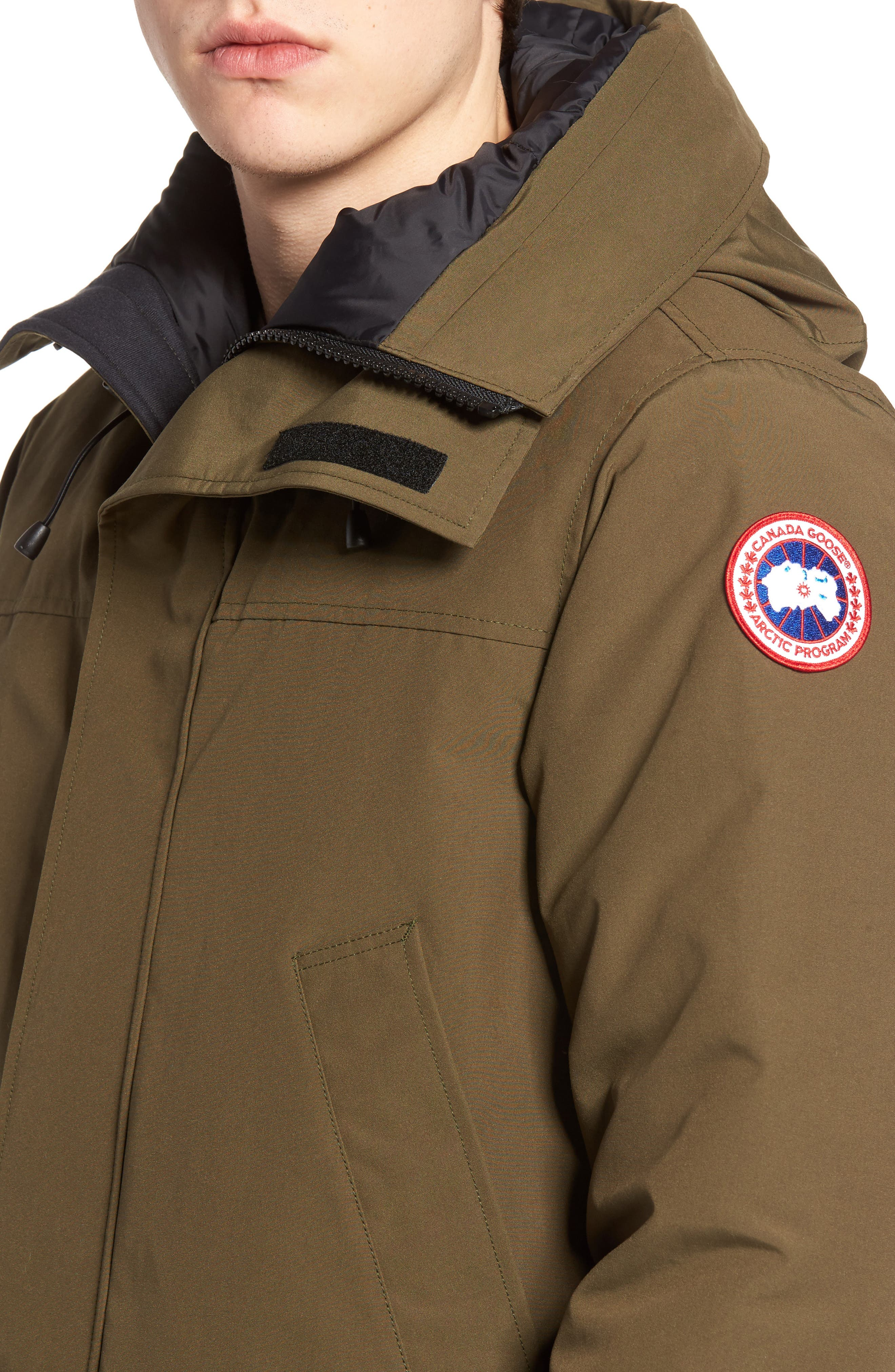 Alternate Image 4  - Canada Goose Langford Slim Fit Down Parka with Genuine Coyote Fur Trim