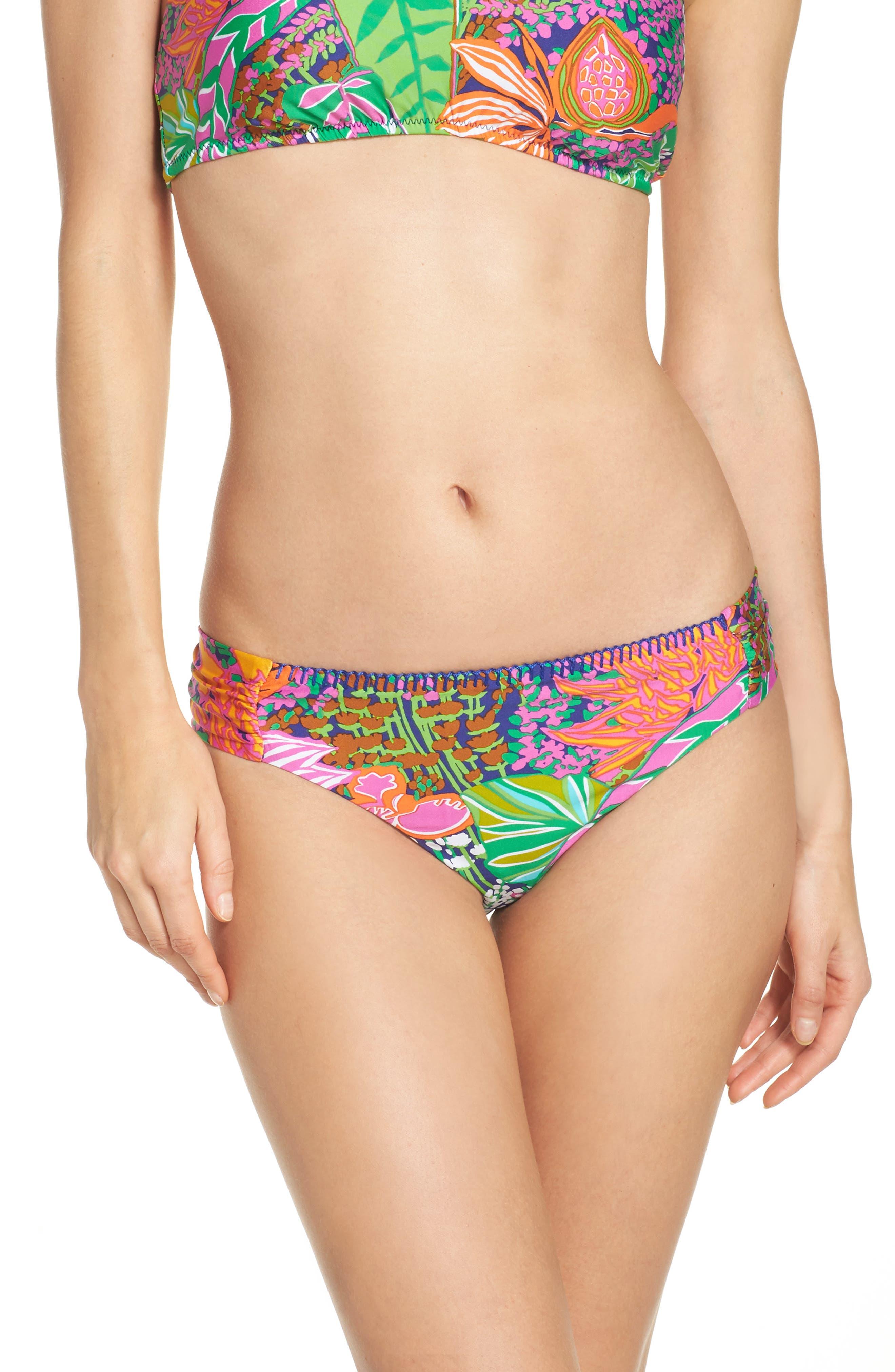 Trina Turk Tropic Escape Hipster Bikini Bottoms
