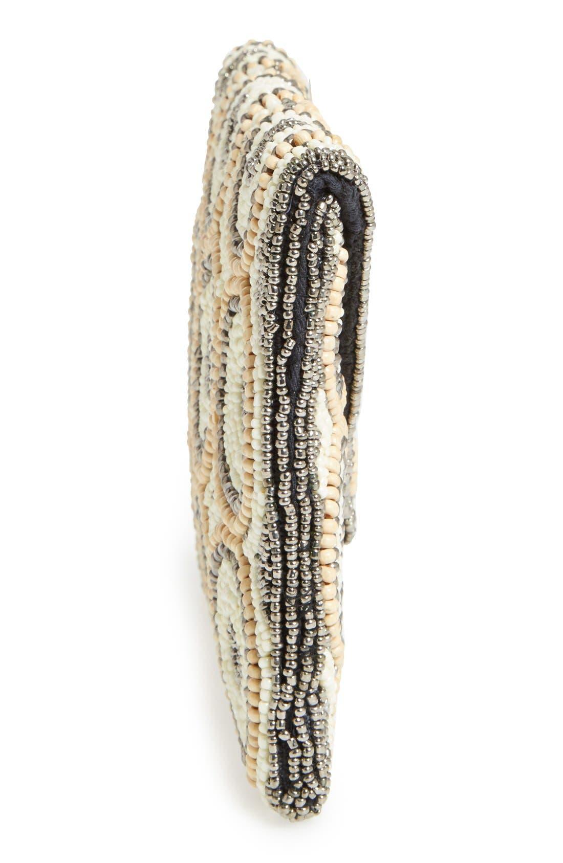 Alternate Image 4  - Natasha Couture Beaded Clutch