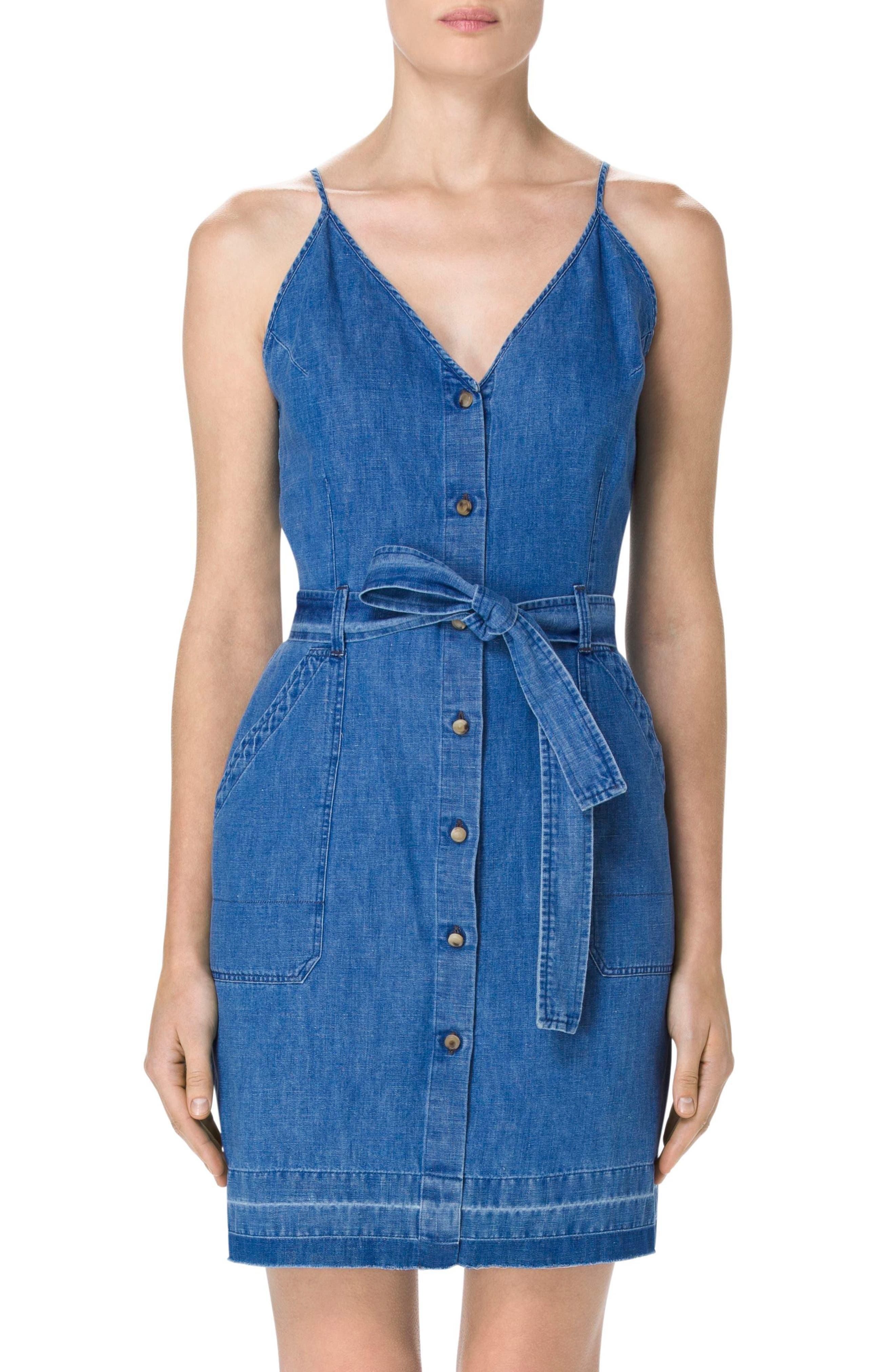 Main Image - J Brand Carmela Denim Dress