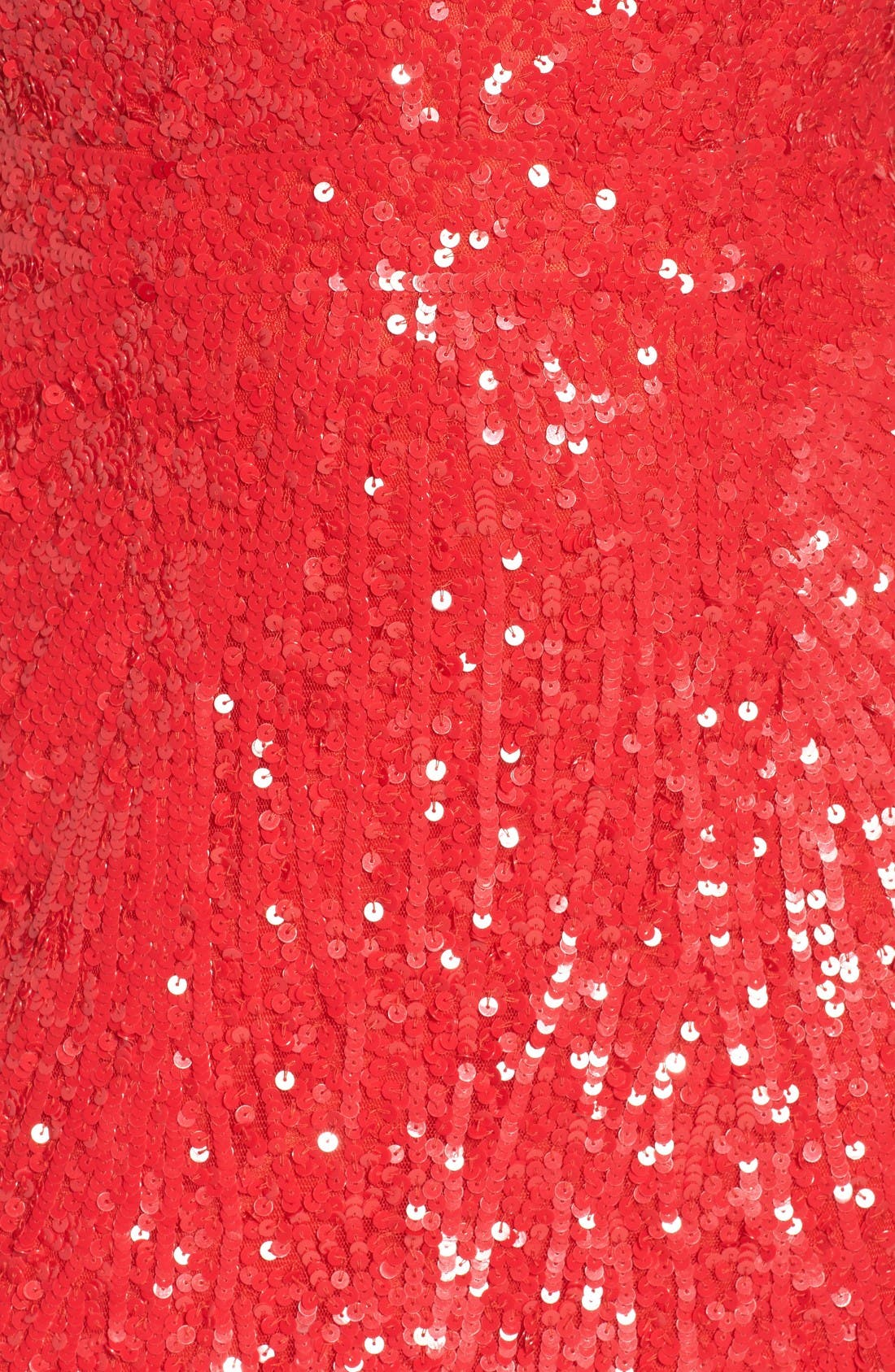 Alternate Image 5  - Mac Duggal Front Slit Sequin Strapless Gown