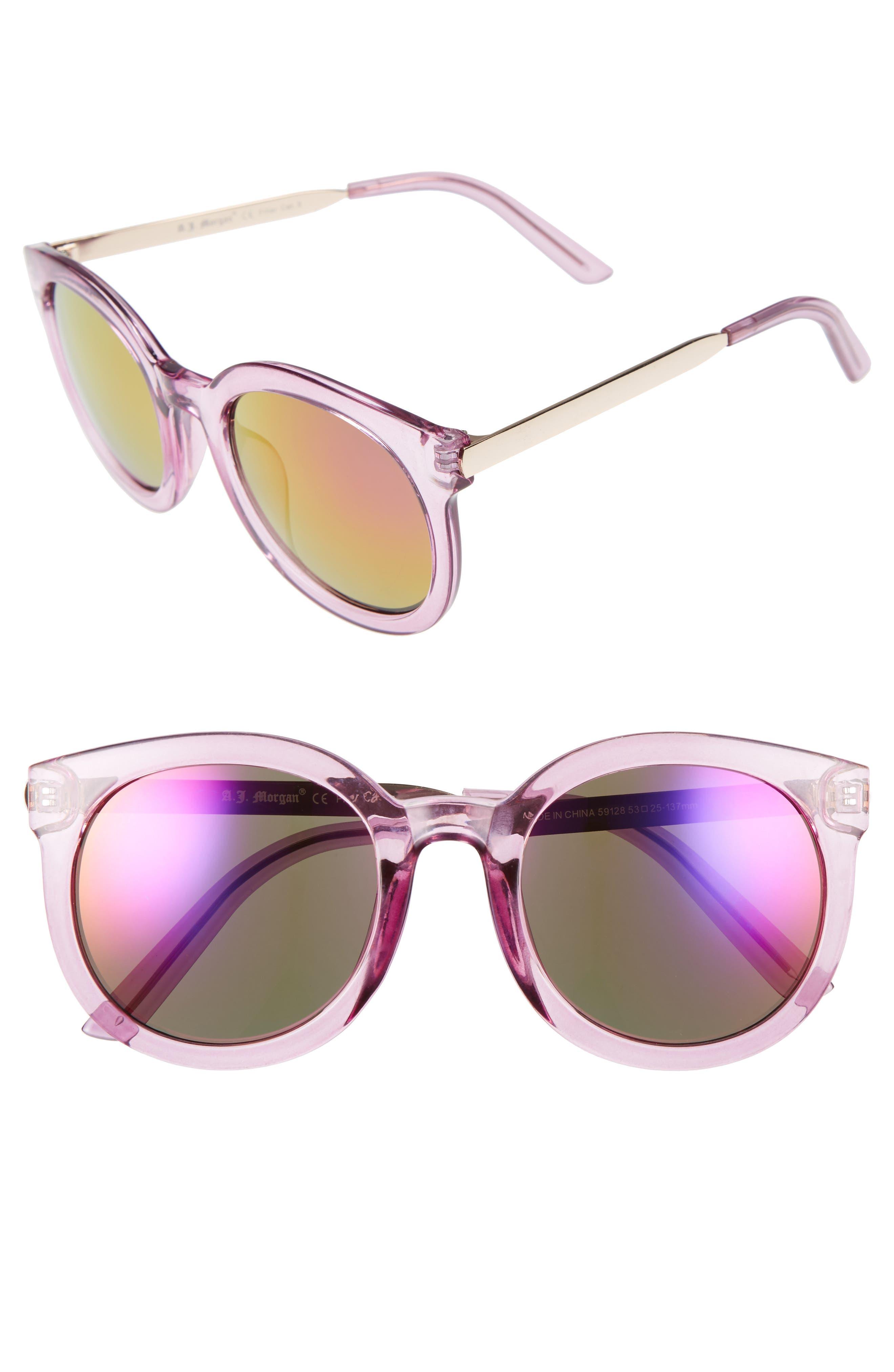 A.J. MORGAN Cat D 53mm Sunglasses