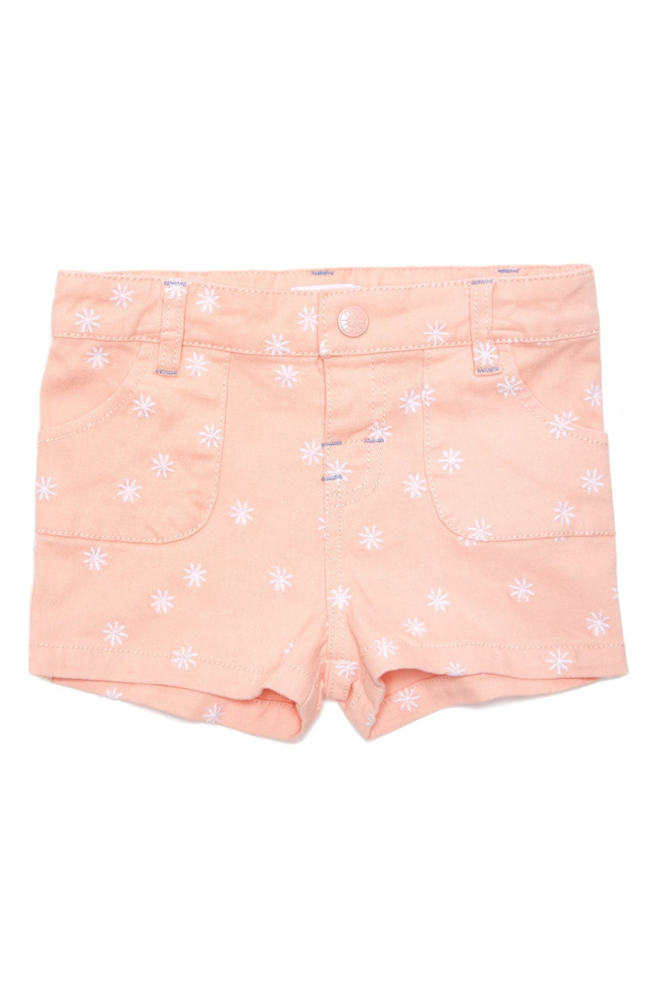 Margherita Embroidered Shorts (Baby Girls)