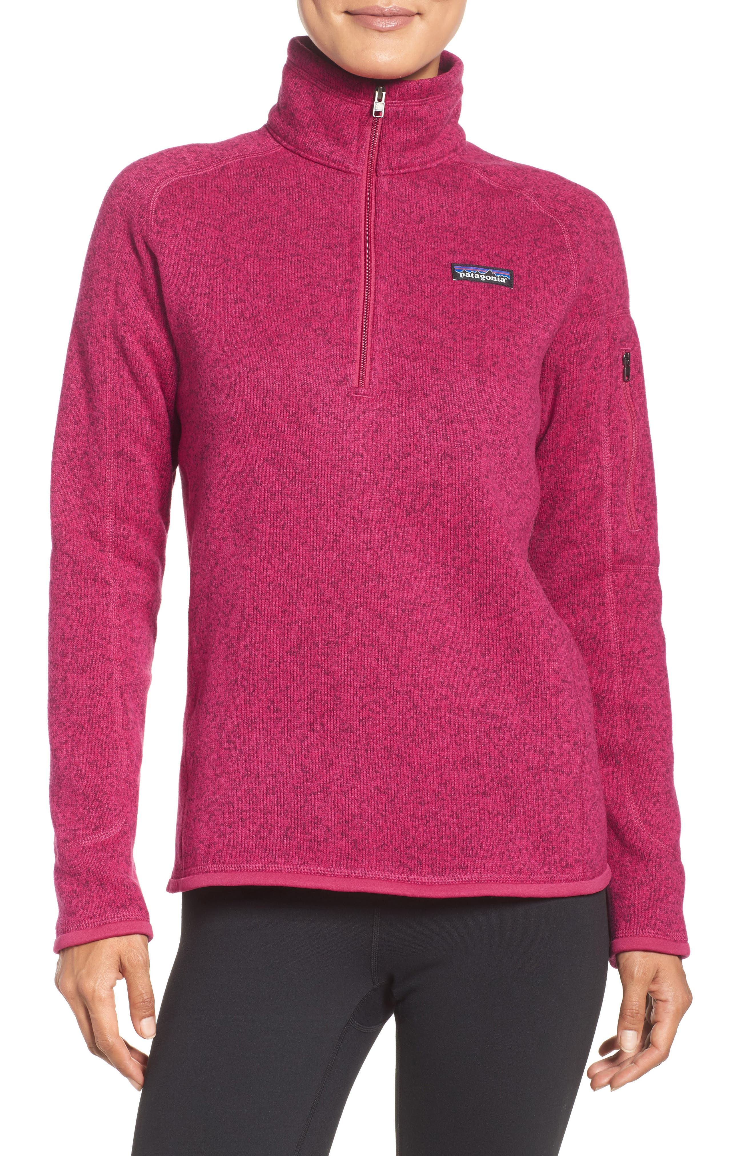 Alternate Image 1 Selected - Patagonia 'Better Sweater' Zip Pullover