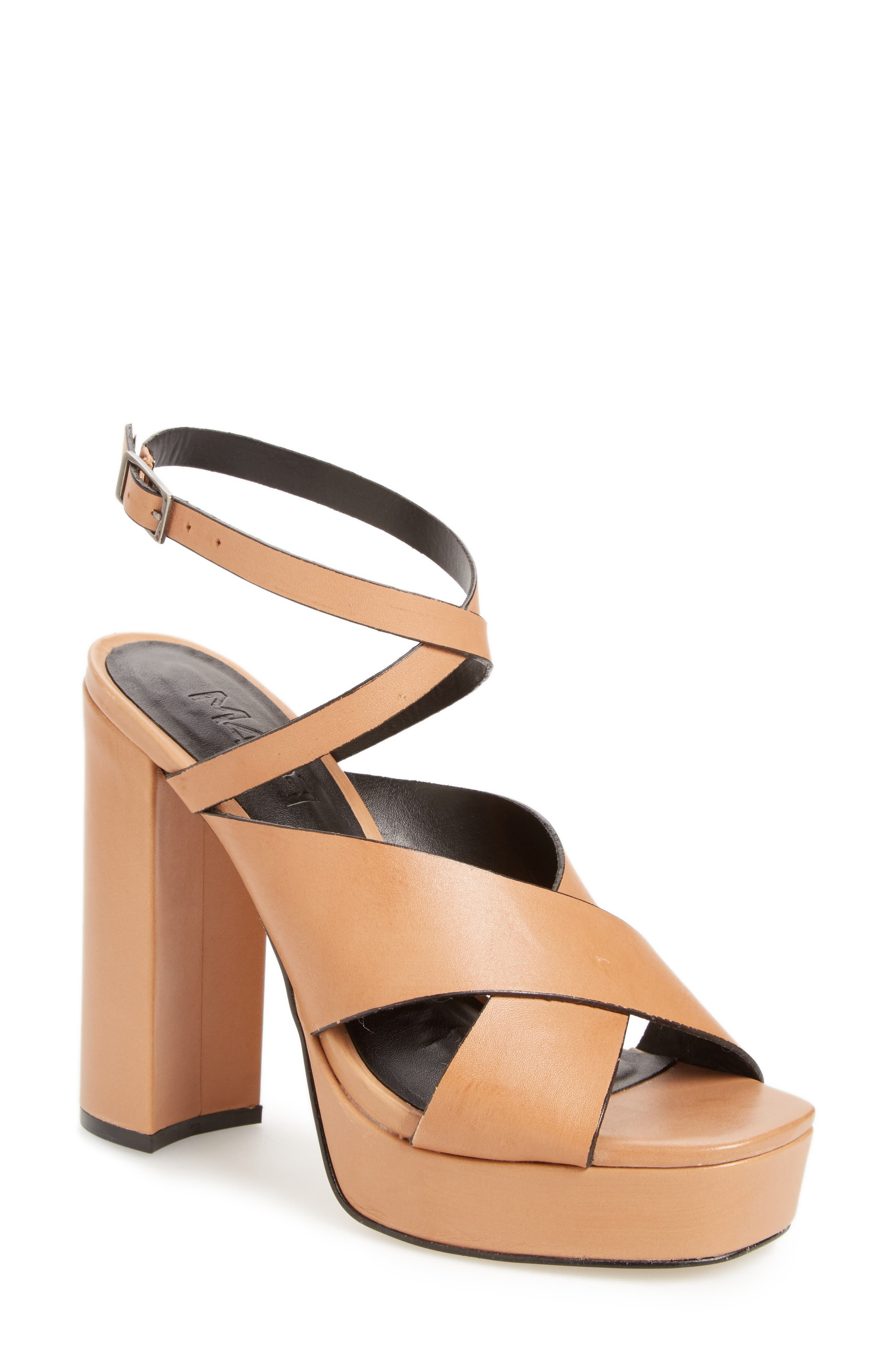 M4D3 FOOTWEAR M4D3 Priscilla Wraparound Platform Sandal