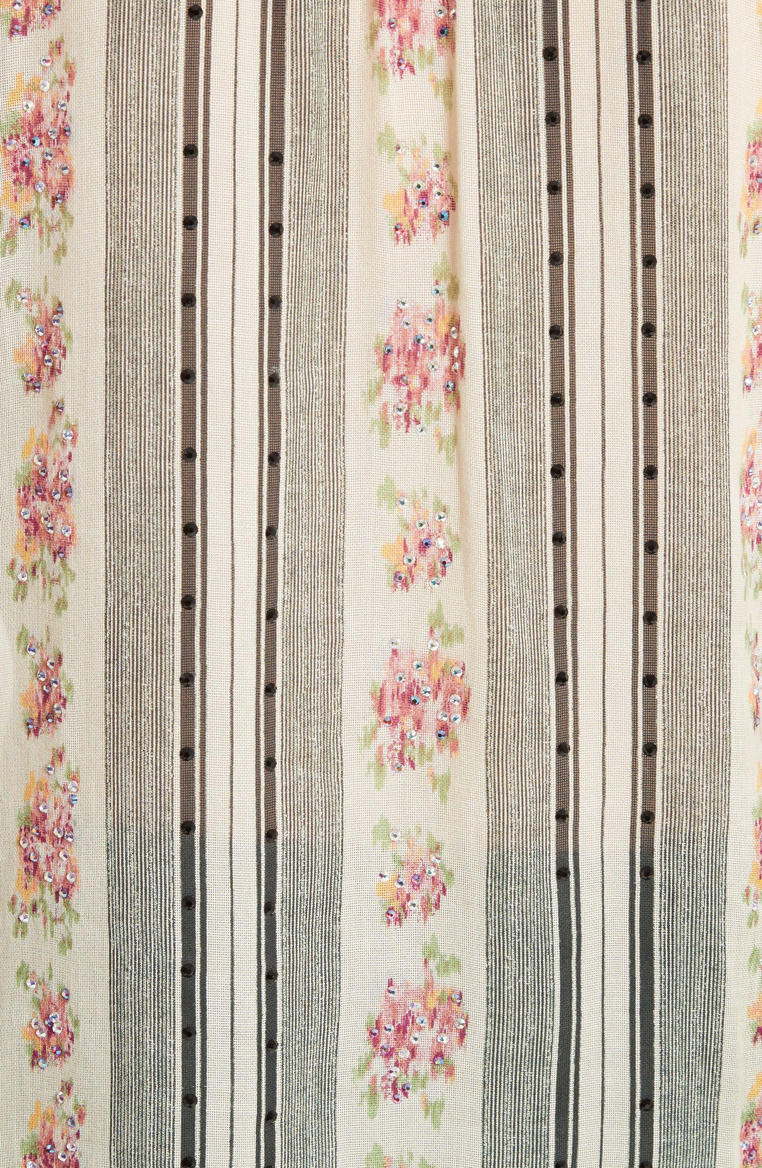 Alternate Image 3  - MARC JACOBS Embellished Brocade Print Blouse