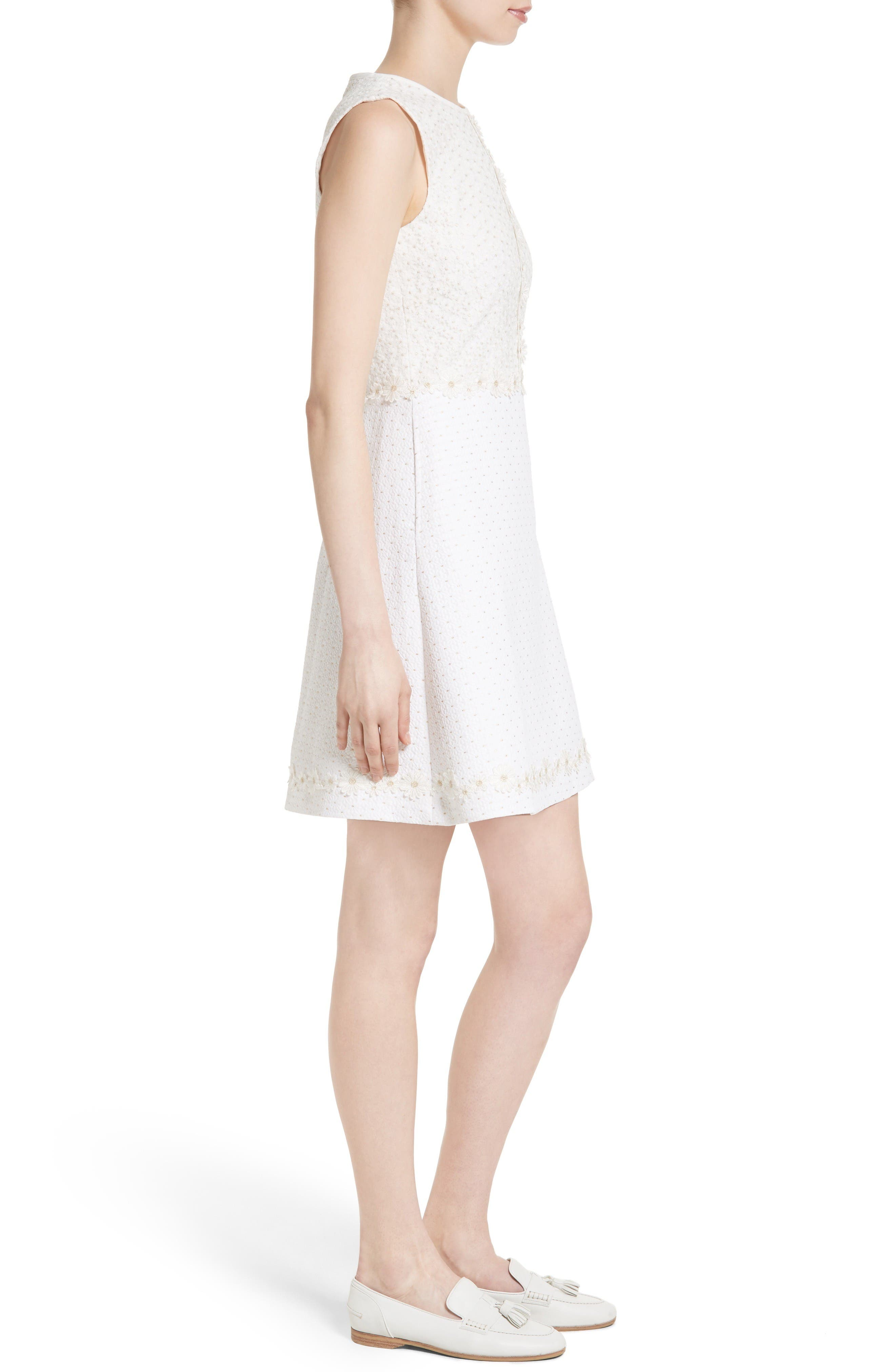 Alternate Image 3  - Ted Baker London Olara Daisy Lace Shift Dress