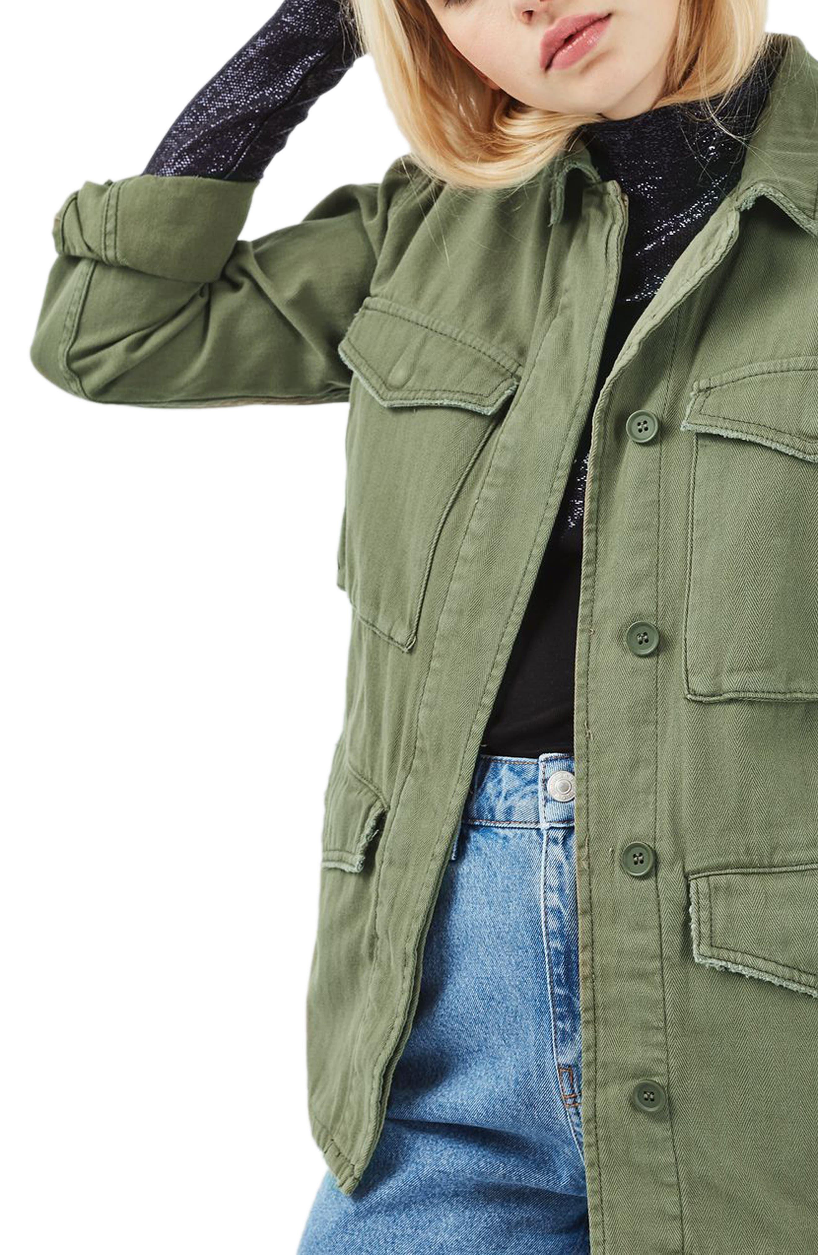 Alternate Image 4  - Topshop Ethan Shirt Jacket