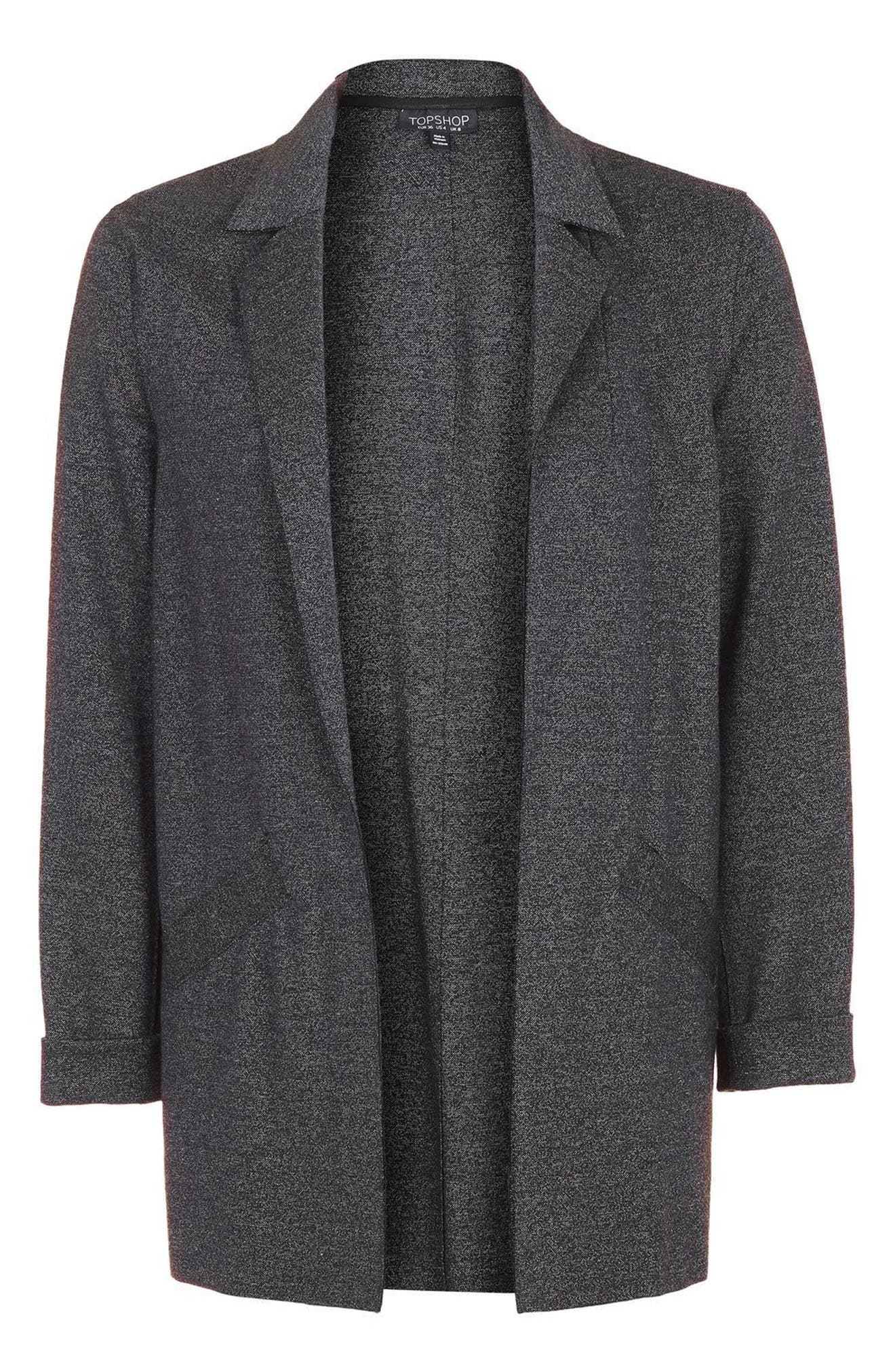 Alternate Image 1 Selected - Topshop Open Front Blazer